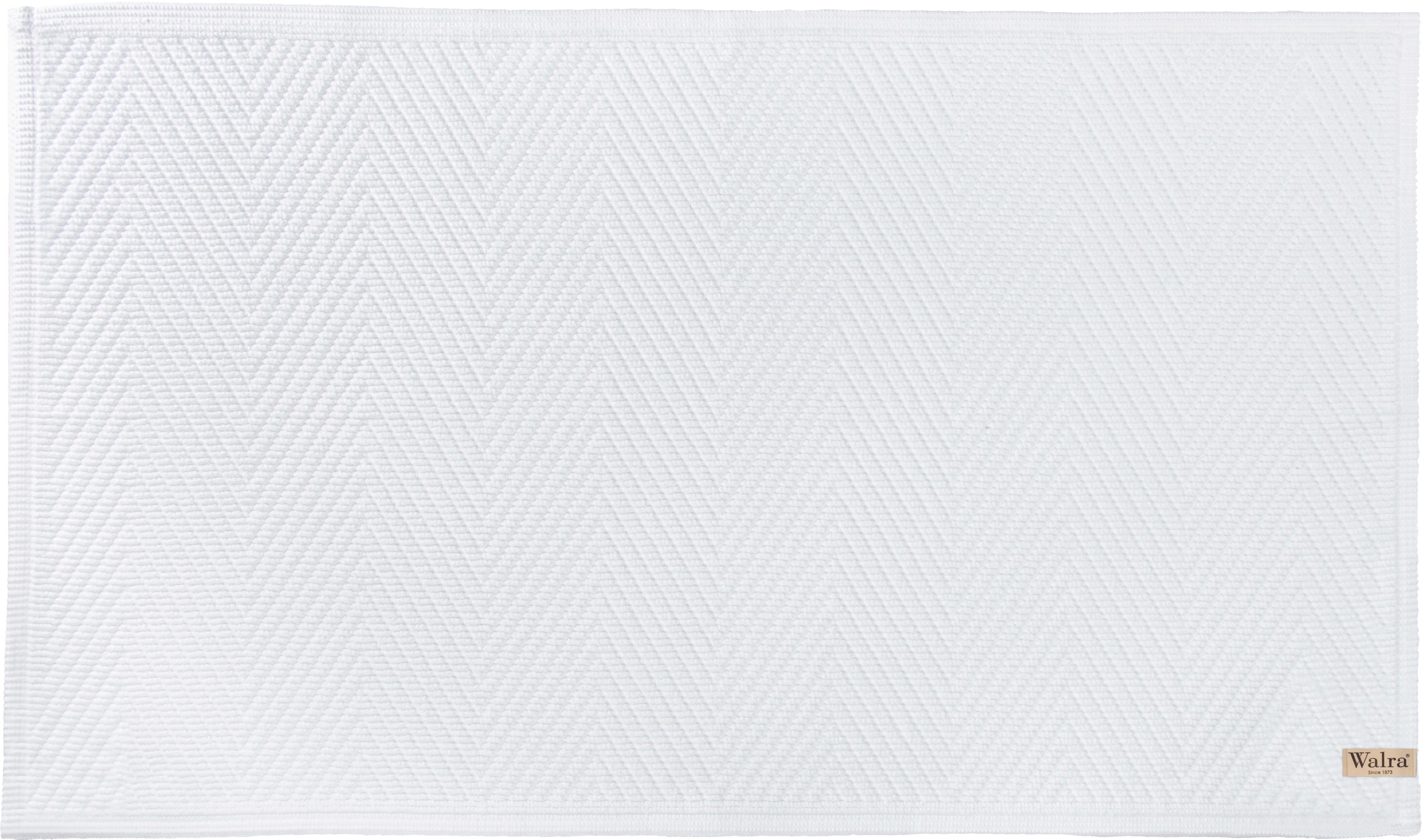 Alfombrilla de baño Soft Cotton, Algodón, Blanco, An 60 x L 100 cm
