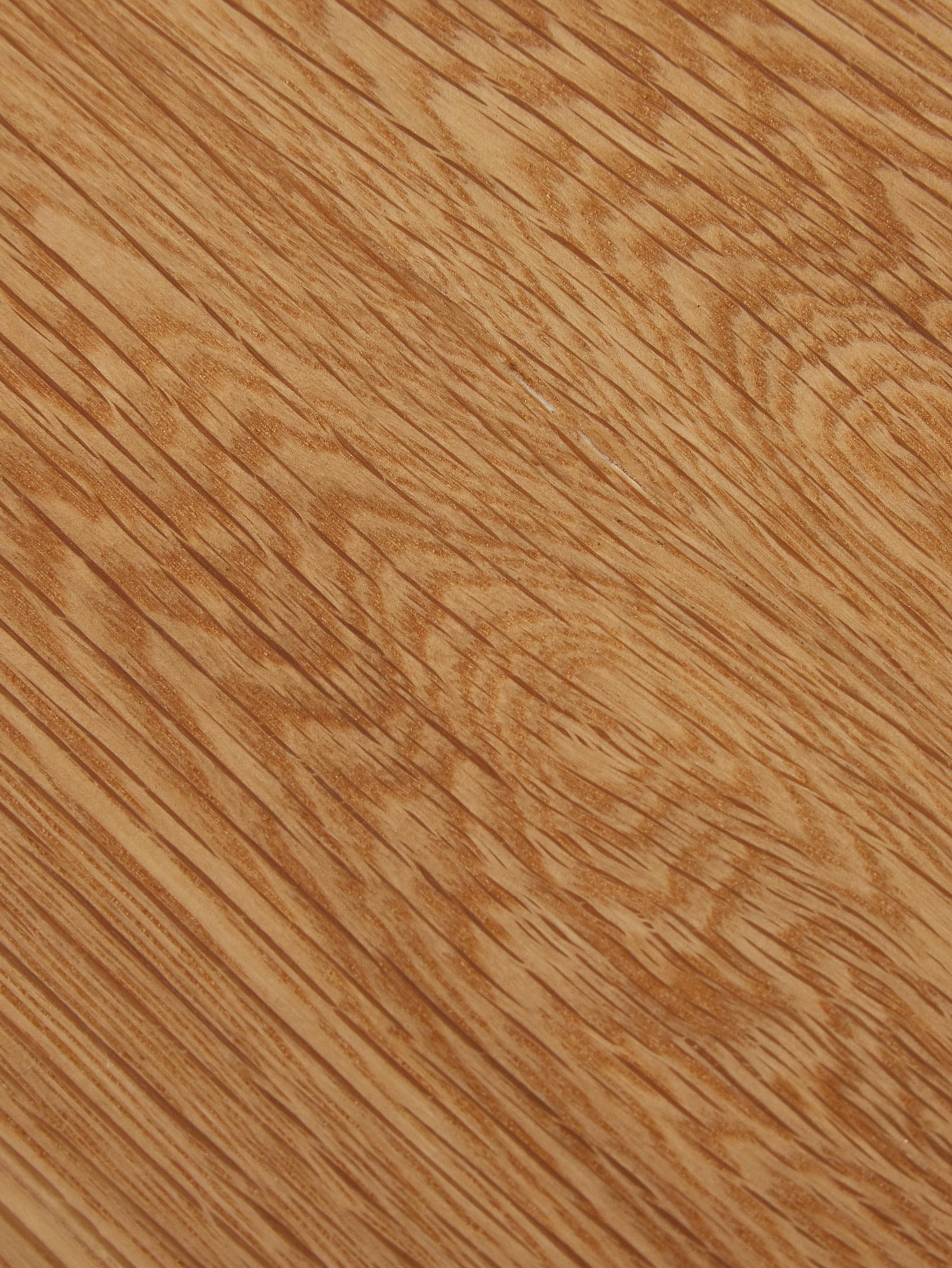Table avec plateau en bois de chêne Juno, Placage en bois de chêne