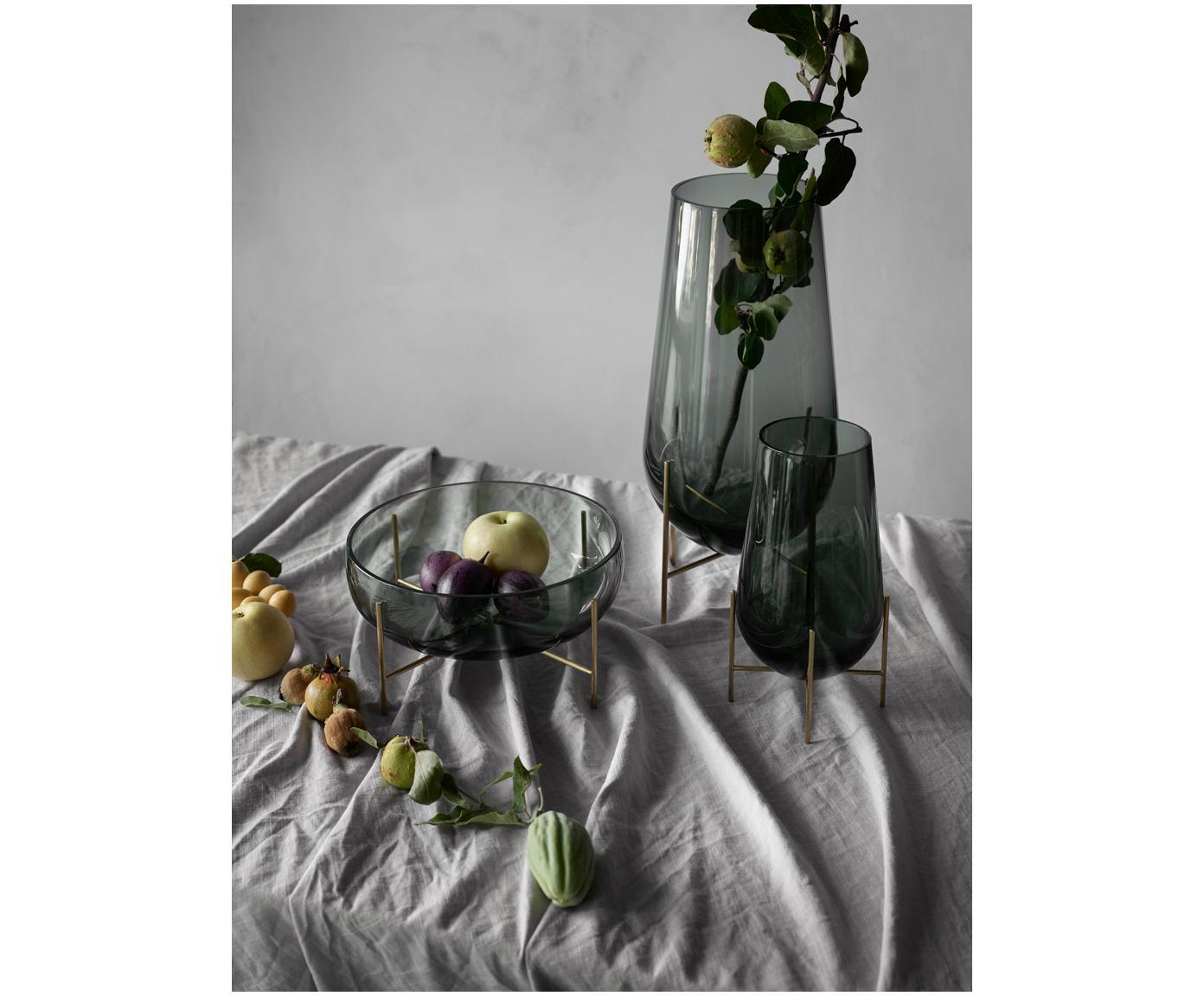 Miska Échasse, Váza: tmavosivá Konštrukcia: mosadzná