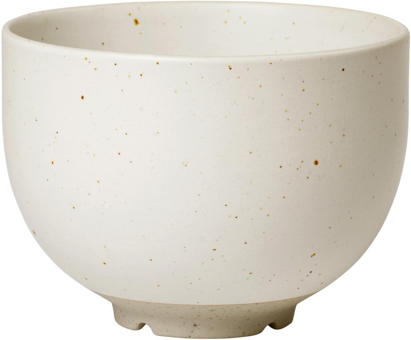 Ciotola in terracotta con finitura opaca Eli 4 pz, Gres, Beige, grigio chiaro, Ø 11 cm
