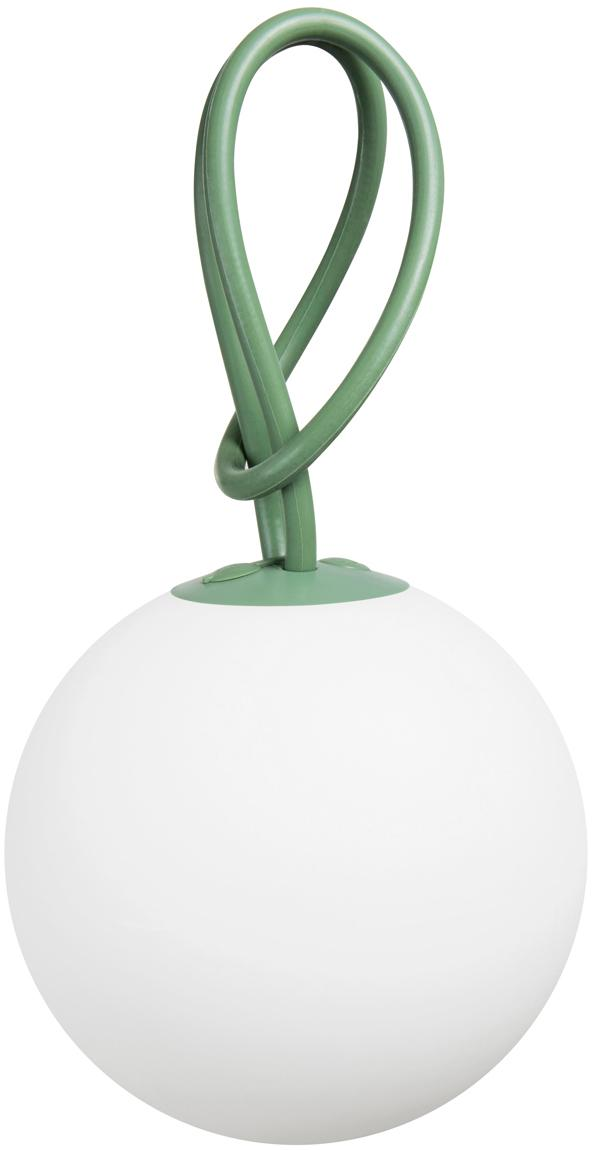 Mobile LED Außenleuchte Bolleke, Weiß, Grün, Ø 20 x H 20 cm