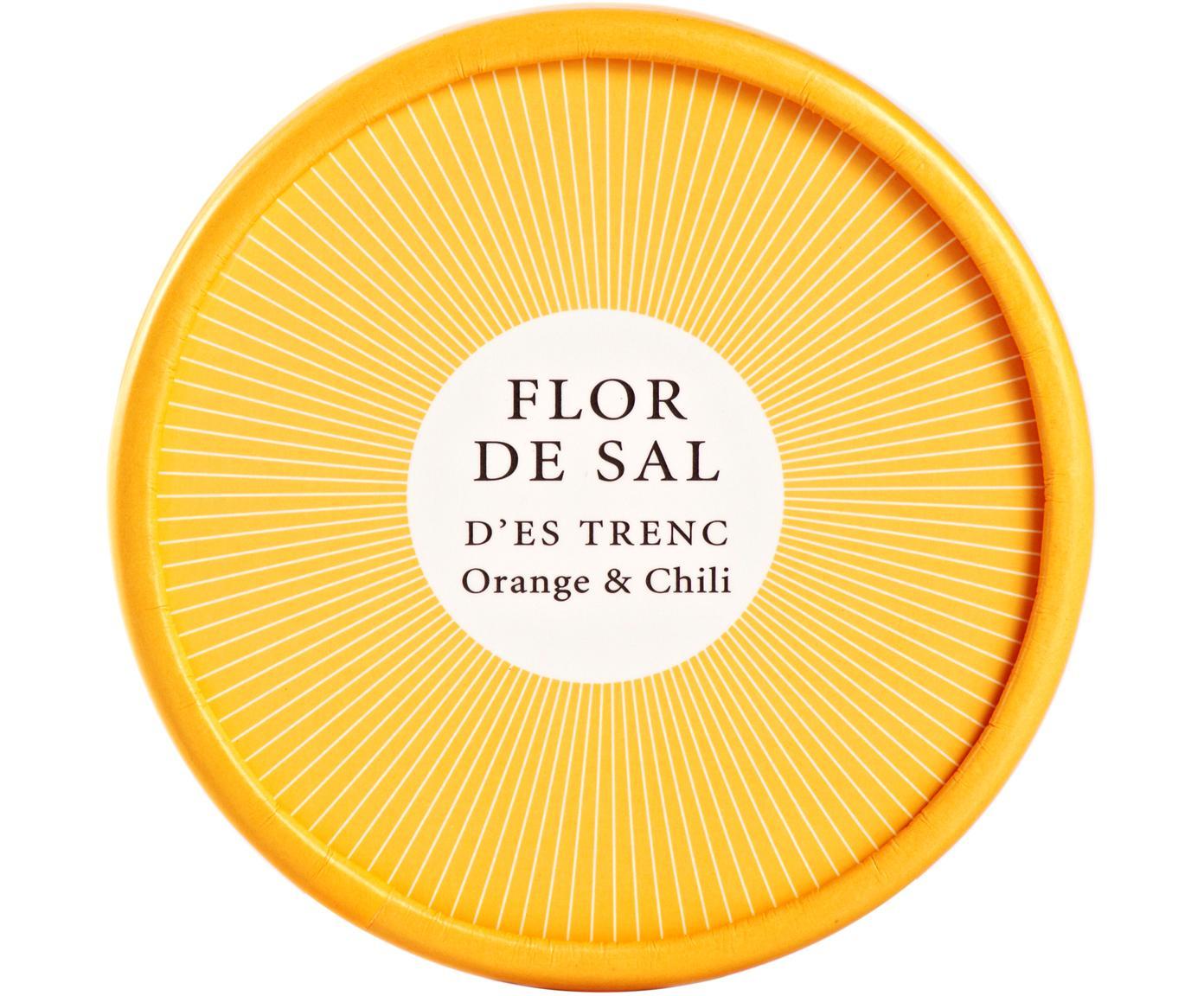 Gewürzsalz Flor de Sal d´Es Trenc (Orange & Chili), Dose: Pappmembran, Gelb, 150 g