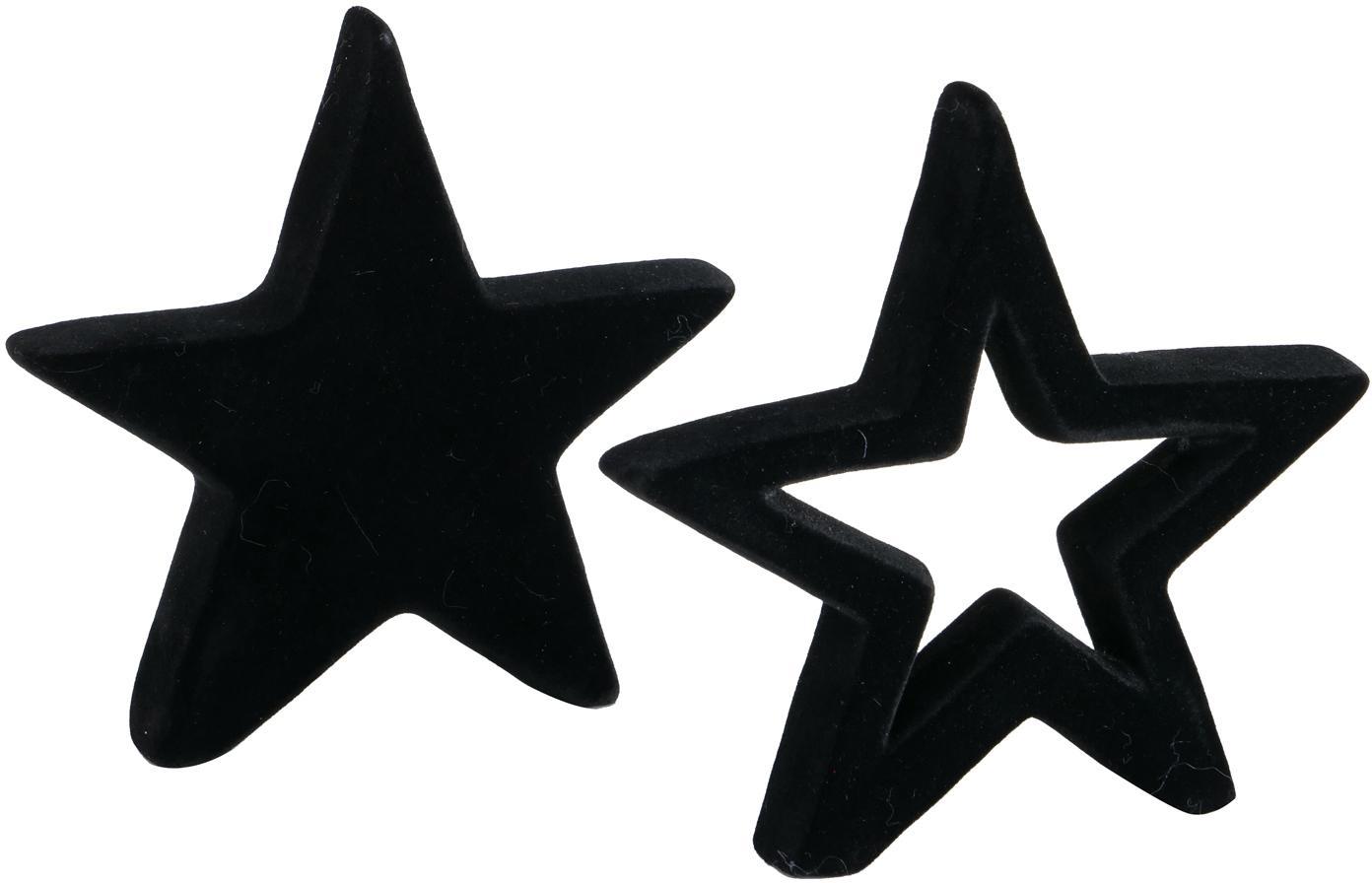Set de piezas decorativas Mido, 2pzas., Terracota, Negro, An 14 x Al 14 cm