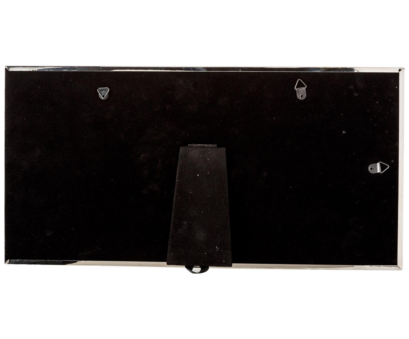 Ramka na zdjęcia Eva, Odcienie srebrnego, 10 x 15 cm