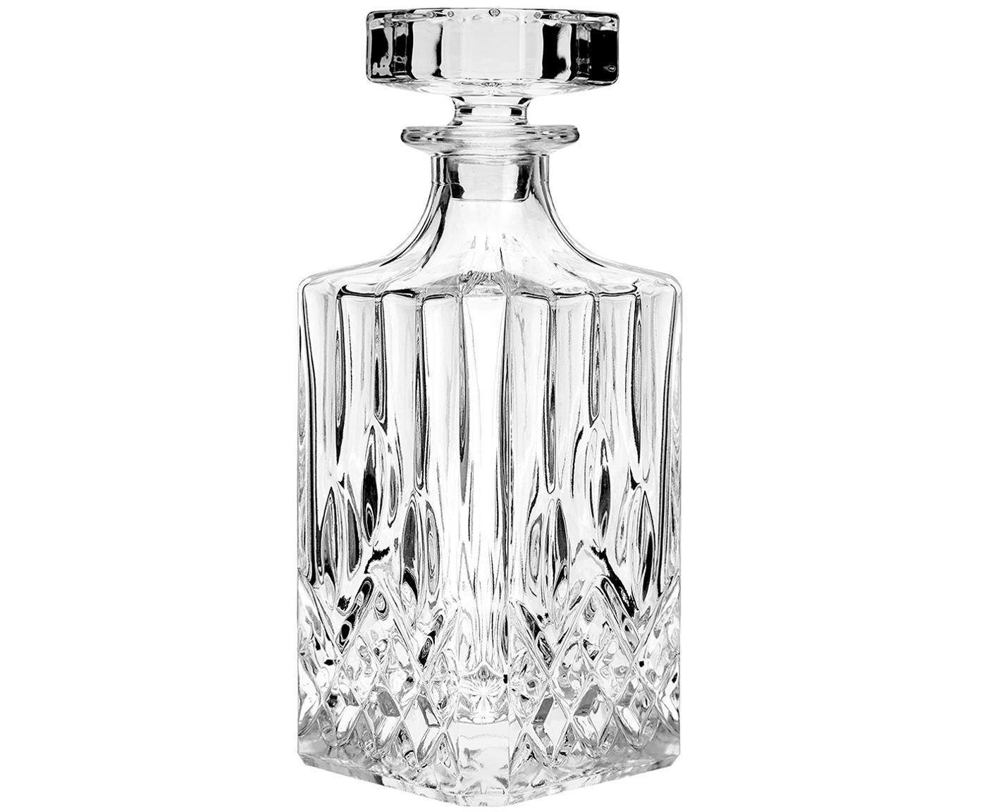 Komplet do whisky George, 3 elem., Szkło, Transparentny, Różne rozmiary