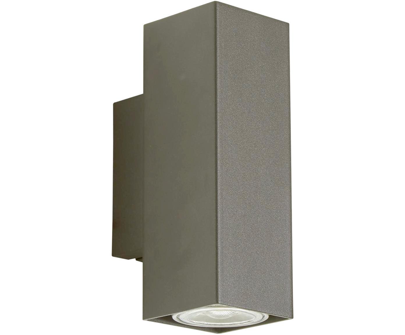 LED Wandleuchte Peter, Metall, verchromt, Chrom, 5 x 8 cm