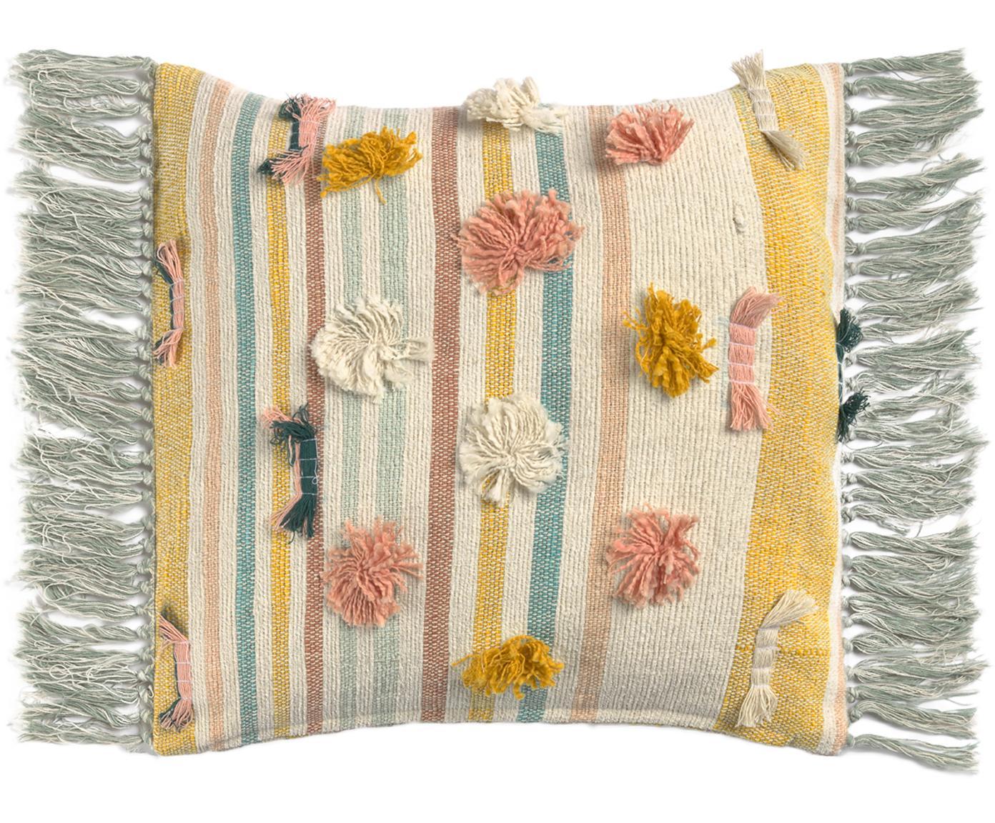 Wendekissenhülle Colors, 100% Baumwolle, Mehrfarbig, 45 x 45 cm