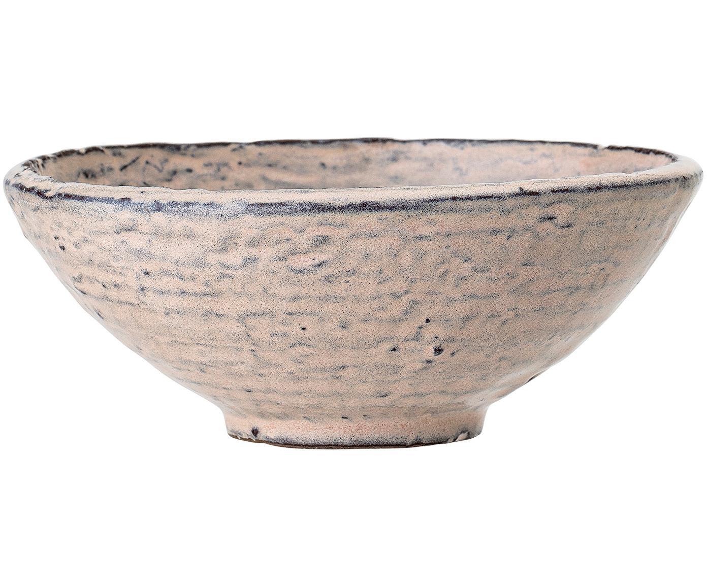 Handgemachtes Schälchen Alia Ø 16 cm in Rosa, Steingut, Rosa, Ø 16 x H 7 cm