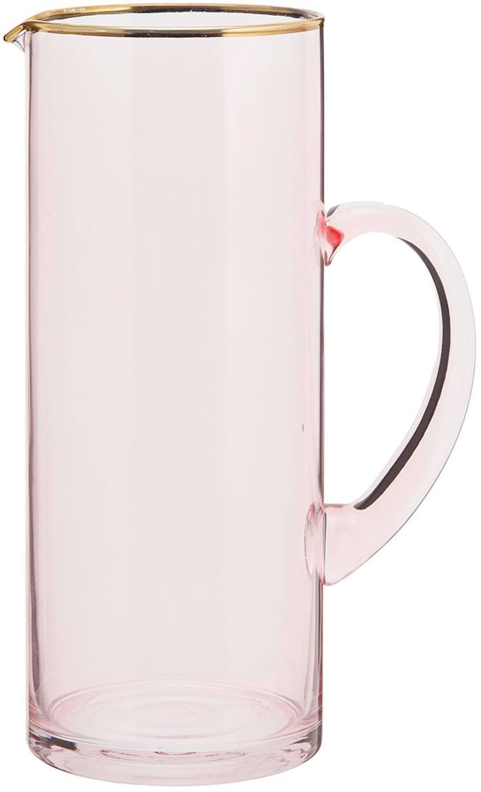 Karaf Chloe, Glas, Perzikkleurig, 1.6 L