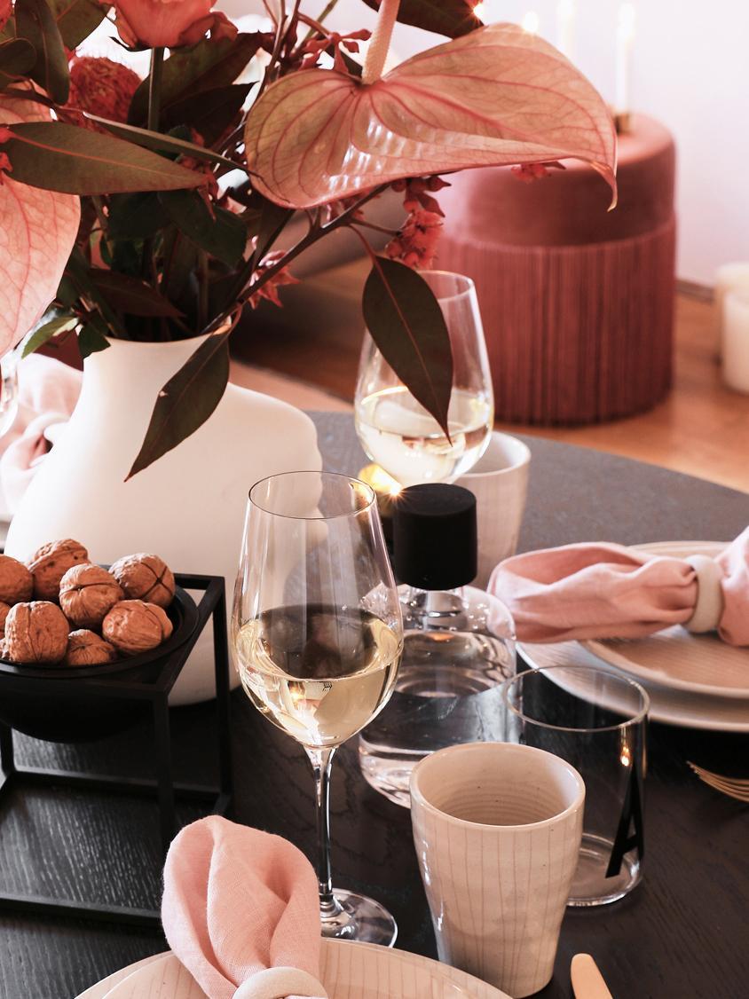 Bicchiere da vino rosso in cristallo  Harmony 6 pz, La lucentezza più preziosa - il vetro di cristallo spezza la luce in entrata particolarmente forte. Il risultato è una scintilla magica che rende ogni degustazione di vini un'esperienza davvero speciale., Trasparente, 490 ml