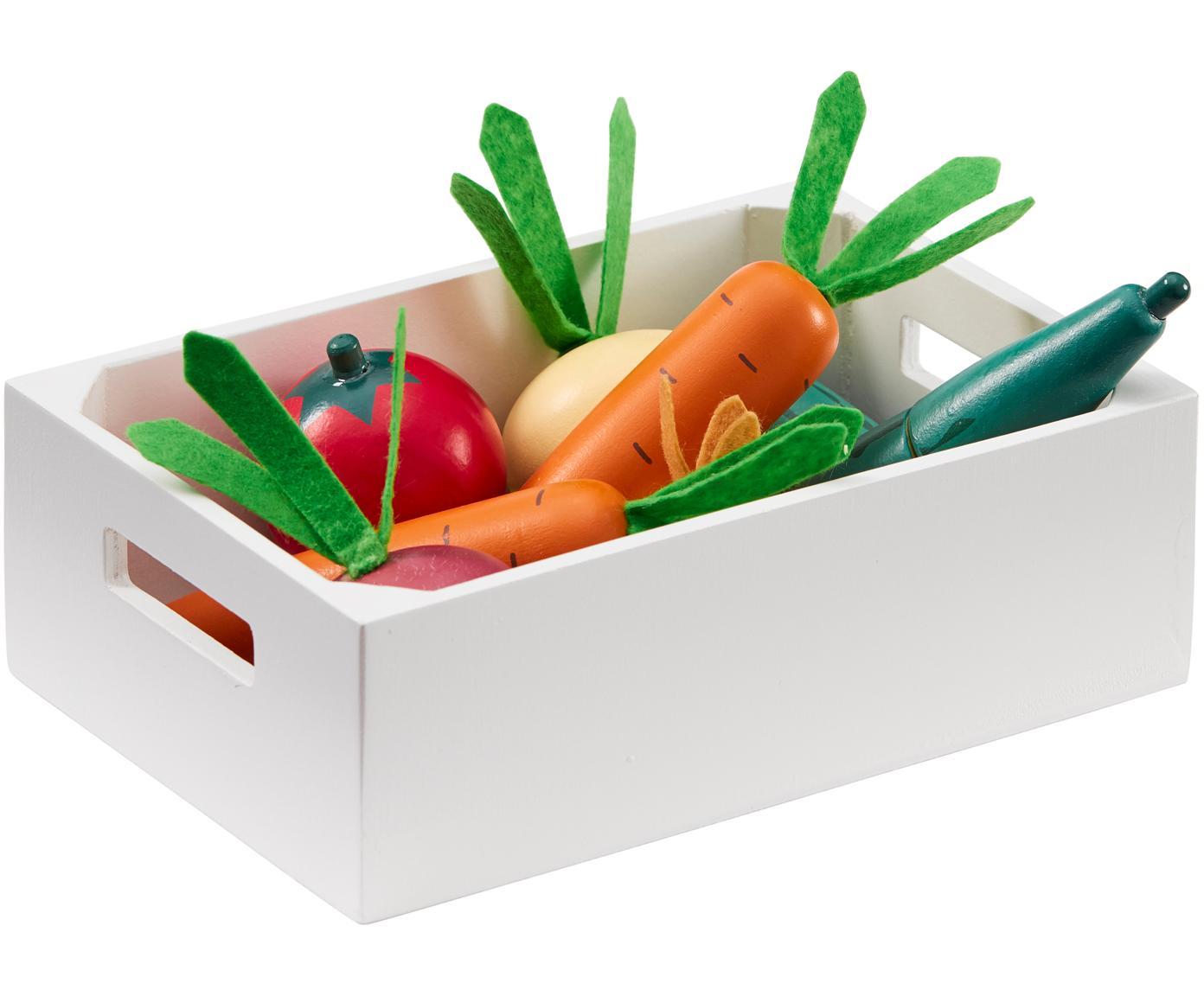 Spielzeug-Set Vegetables, Holz, Mehrfarbig, Sondergrößen