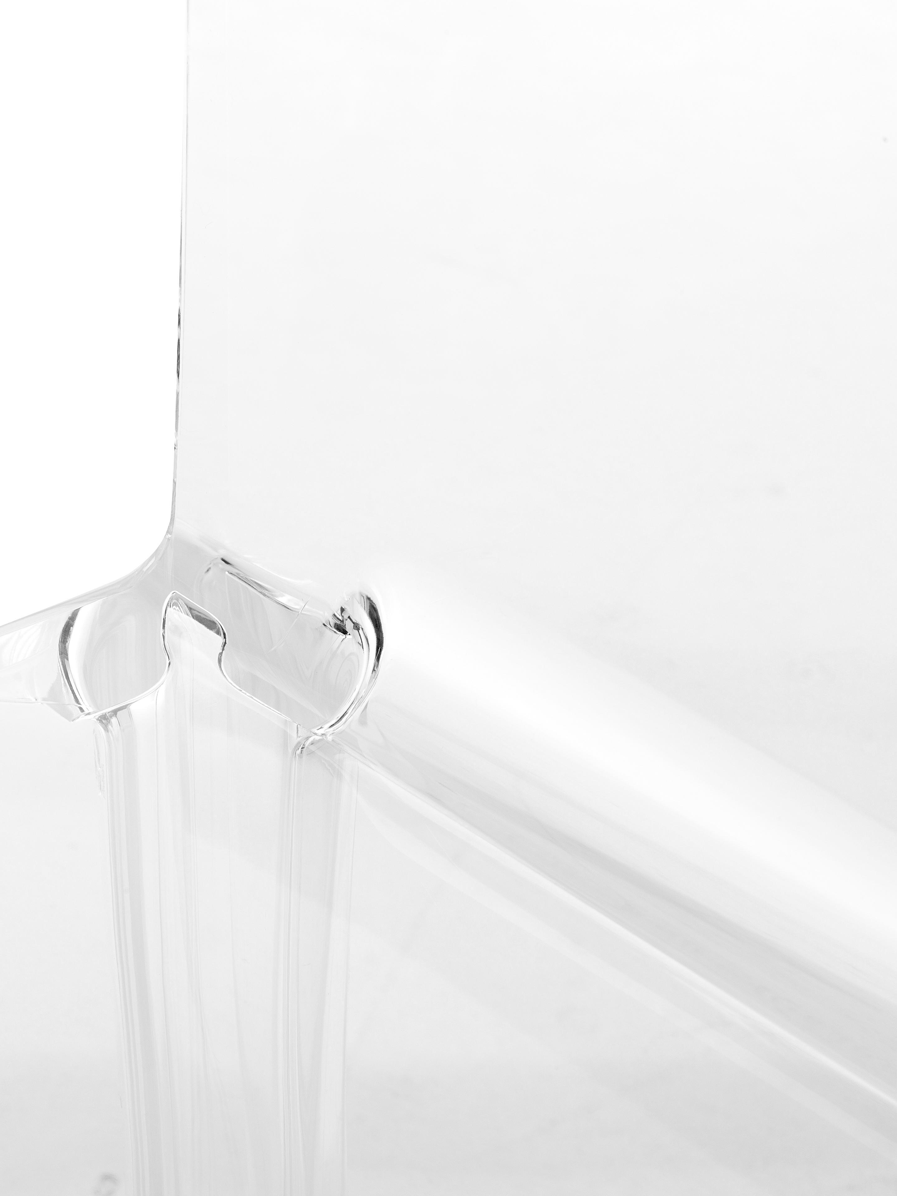 Transparenter Nachttisch Ghost, Kunststoff, Transparent, 40 x 57 cm