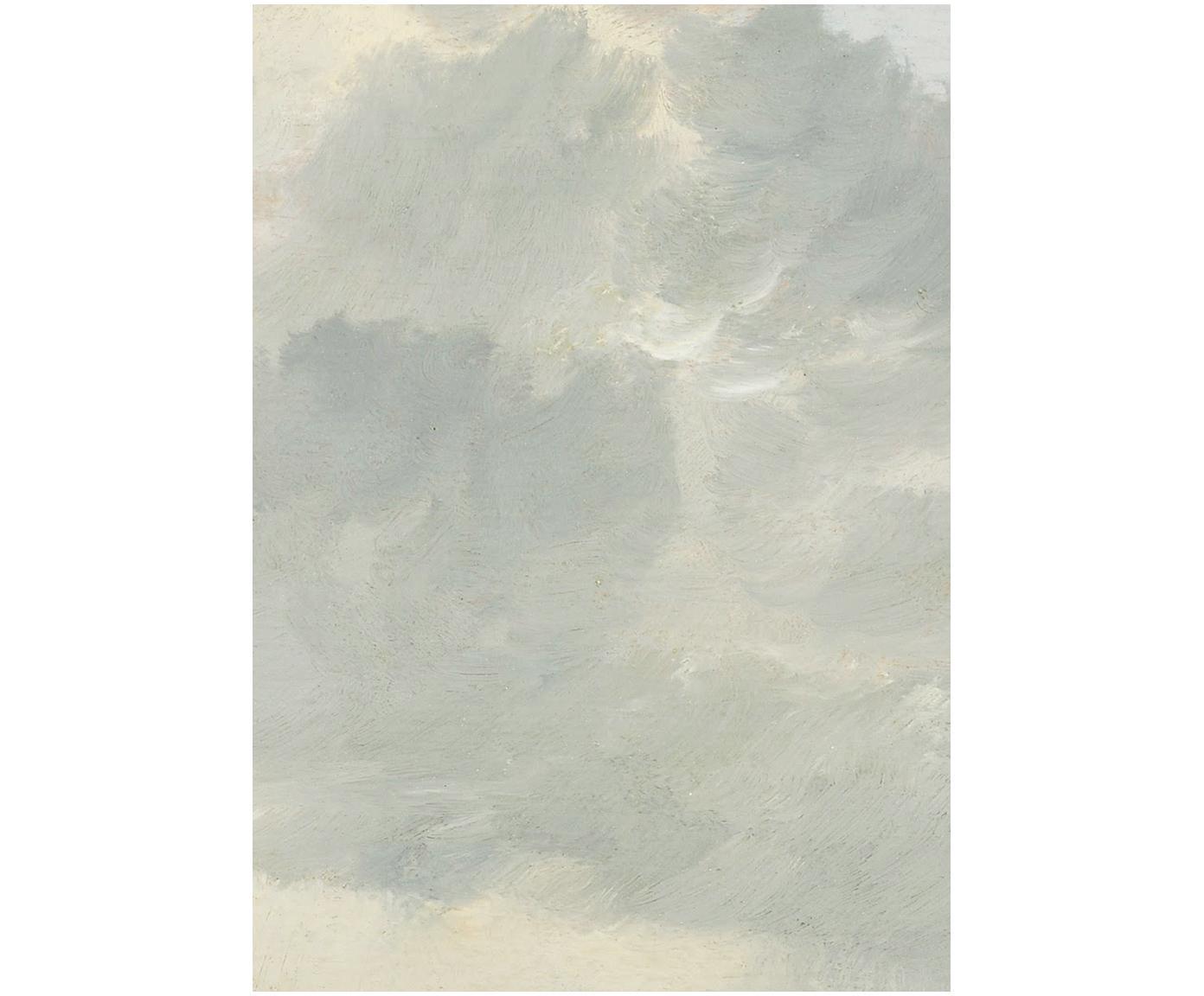 Fototapeta Golden Age Clouds, Włóknina, przyjazna dla środowiska i biodegradowalna, Szary, beżowy, matowy, S 389 x W 280 cm