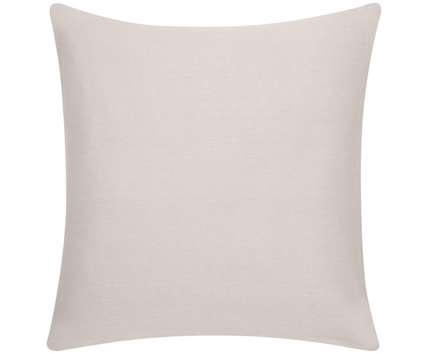 Federa arredo in beige Mads, Cotone, Beige, Larg. 40 x Lung. 40 cm