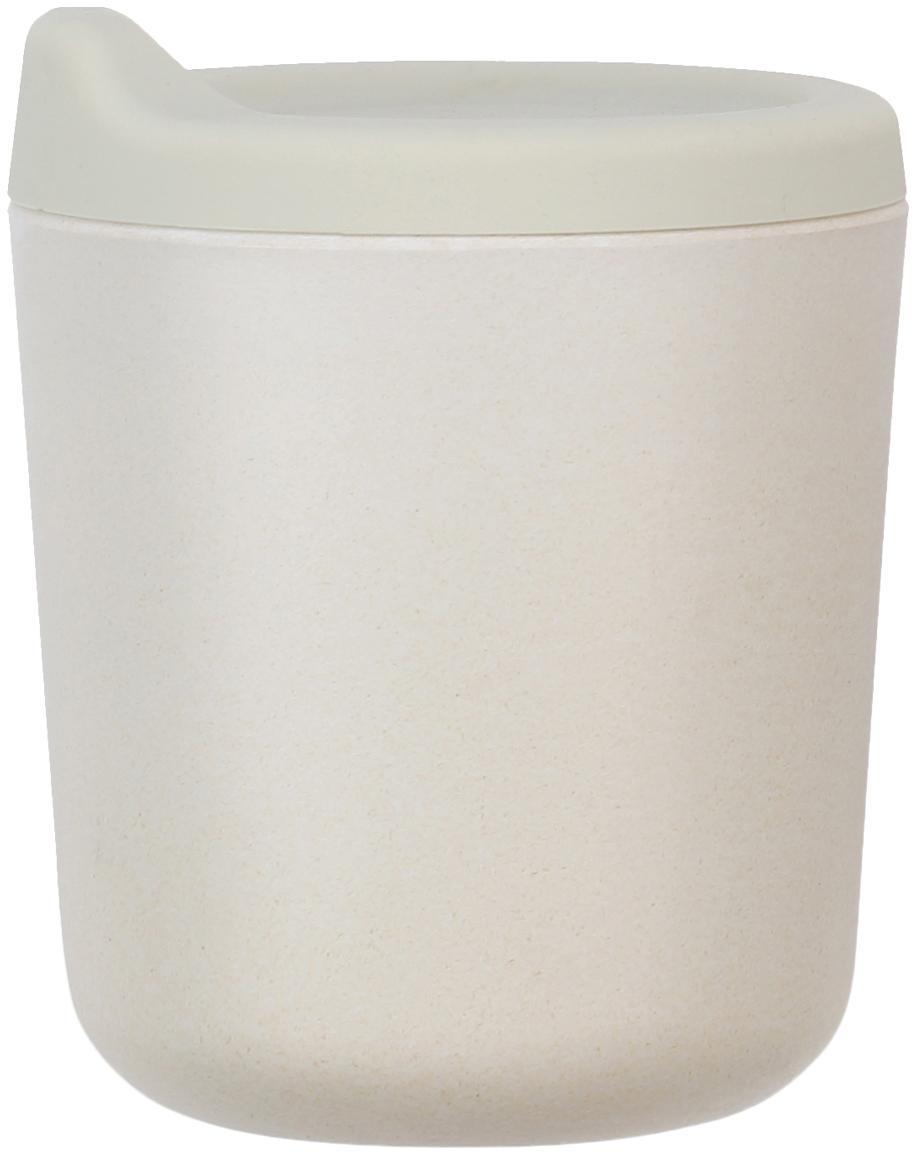 Vaso de transición Bambino, Fibras de bambú, melamina, apto para alimentos Libre de BPA, PVC y ftalatos, Gris claro, Ø 7 x Al 9 cm
