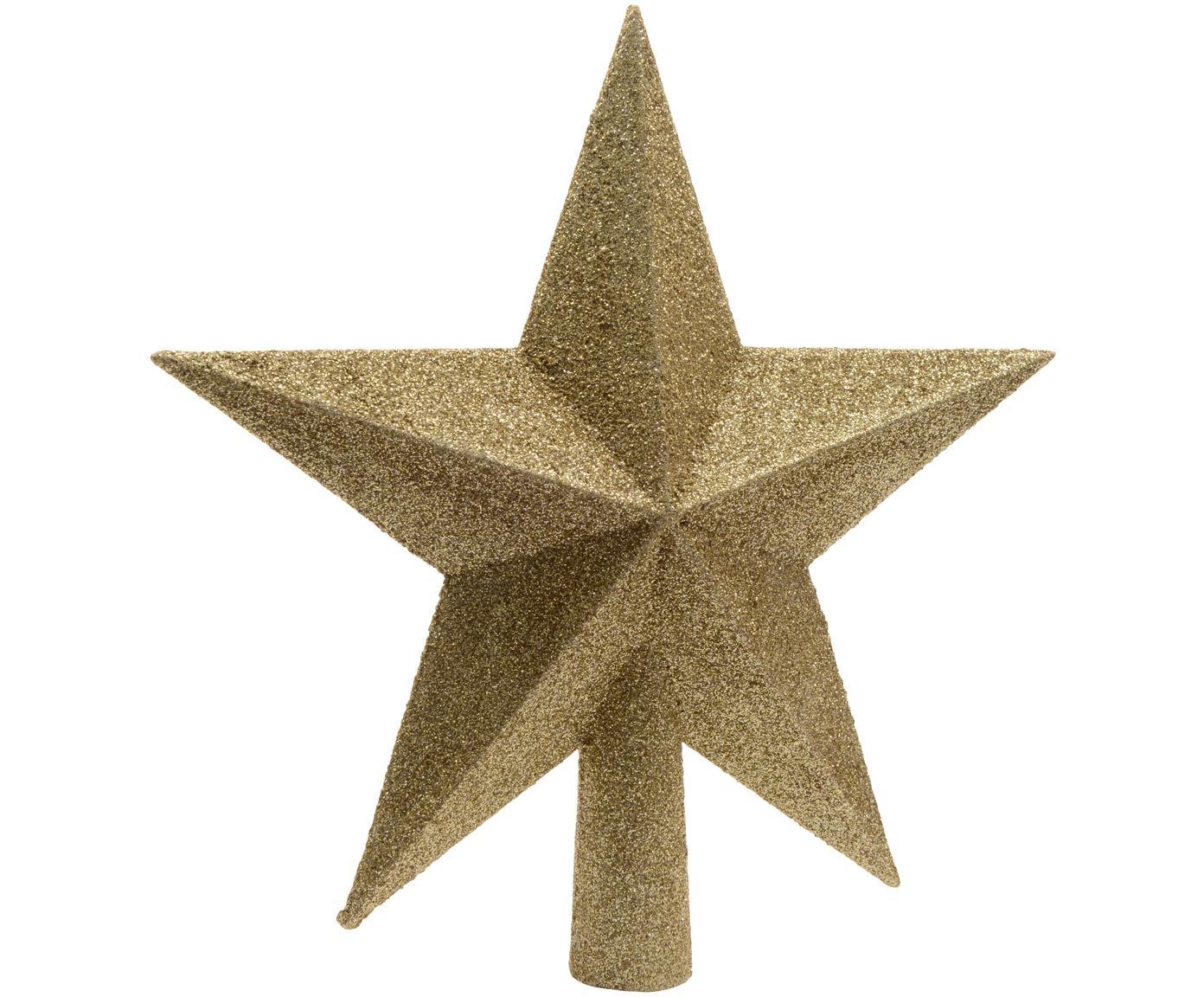 Puntale per albero di Natale Morning Star, Materiale sintetico, Dorato, Ø 19 cm