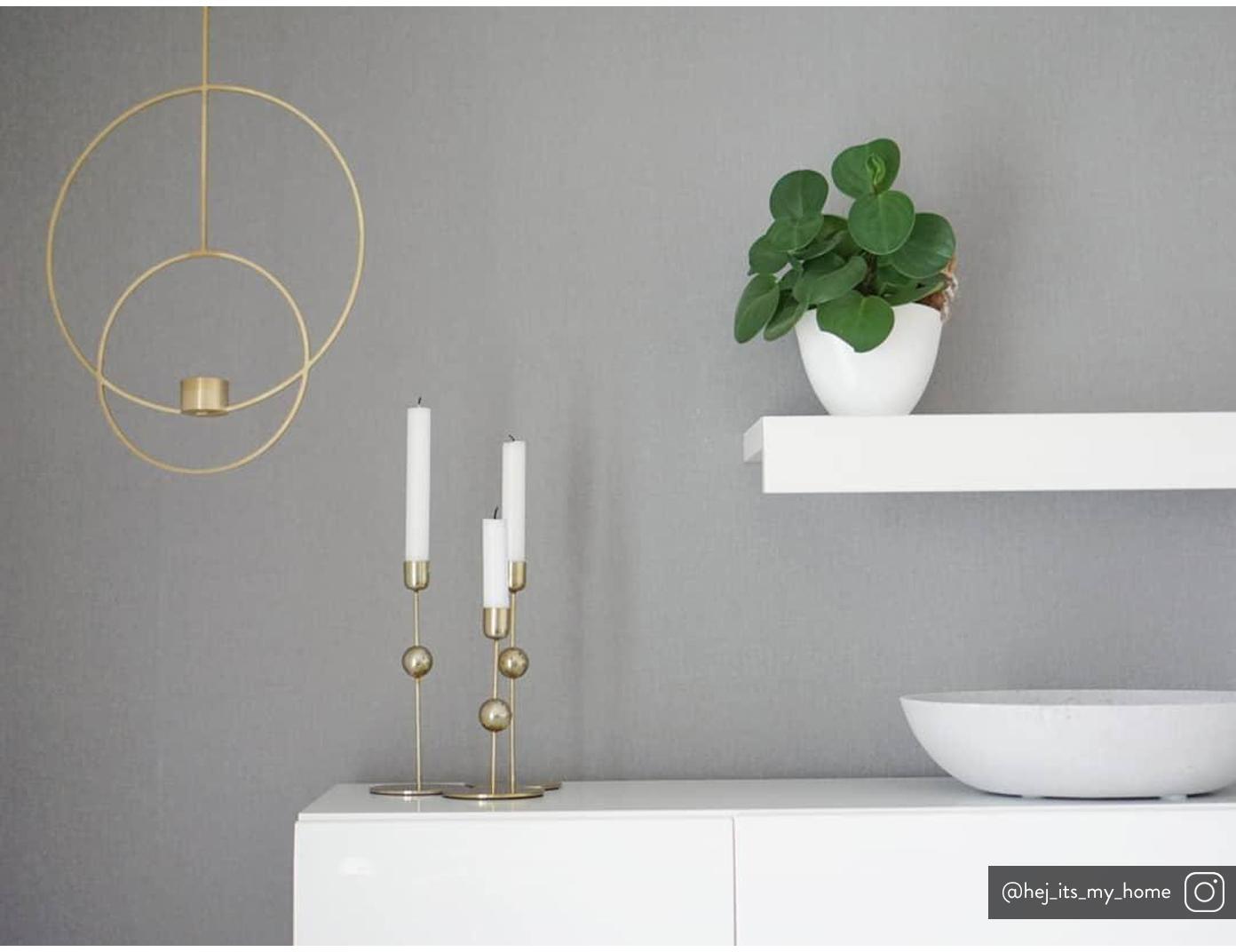 Velas candelabro Stick, 4uds., Parafina, Blanco, Ø 2 x Al 25 cm