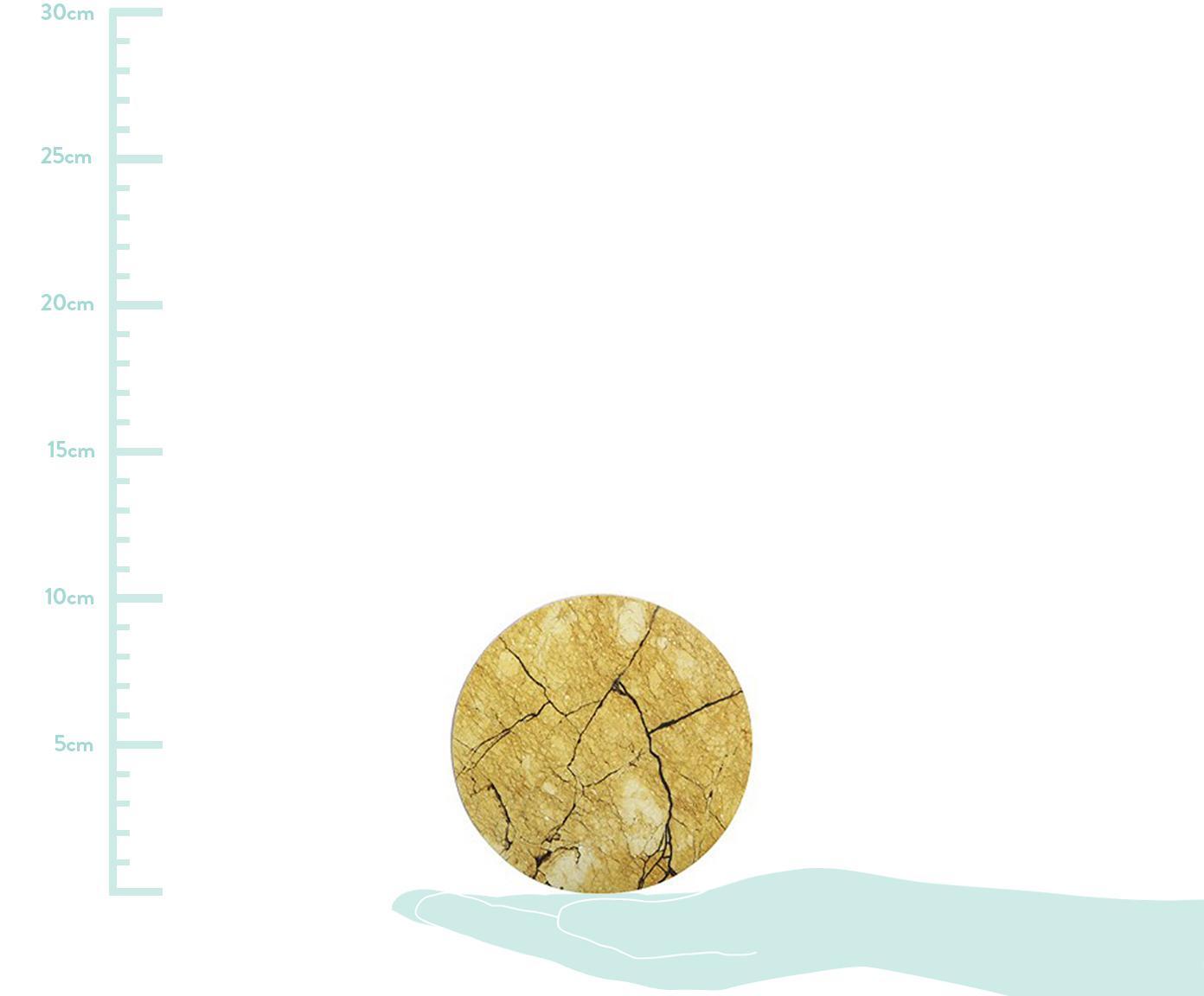 Komplet podstawek Ofelia, 6 elem., Korek, Wielobarwny, Ø 10 cm