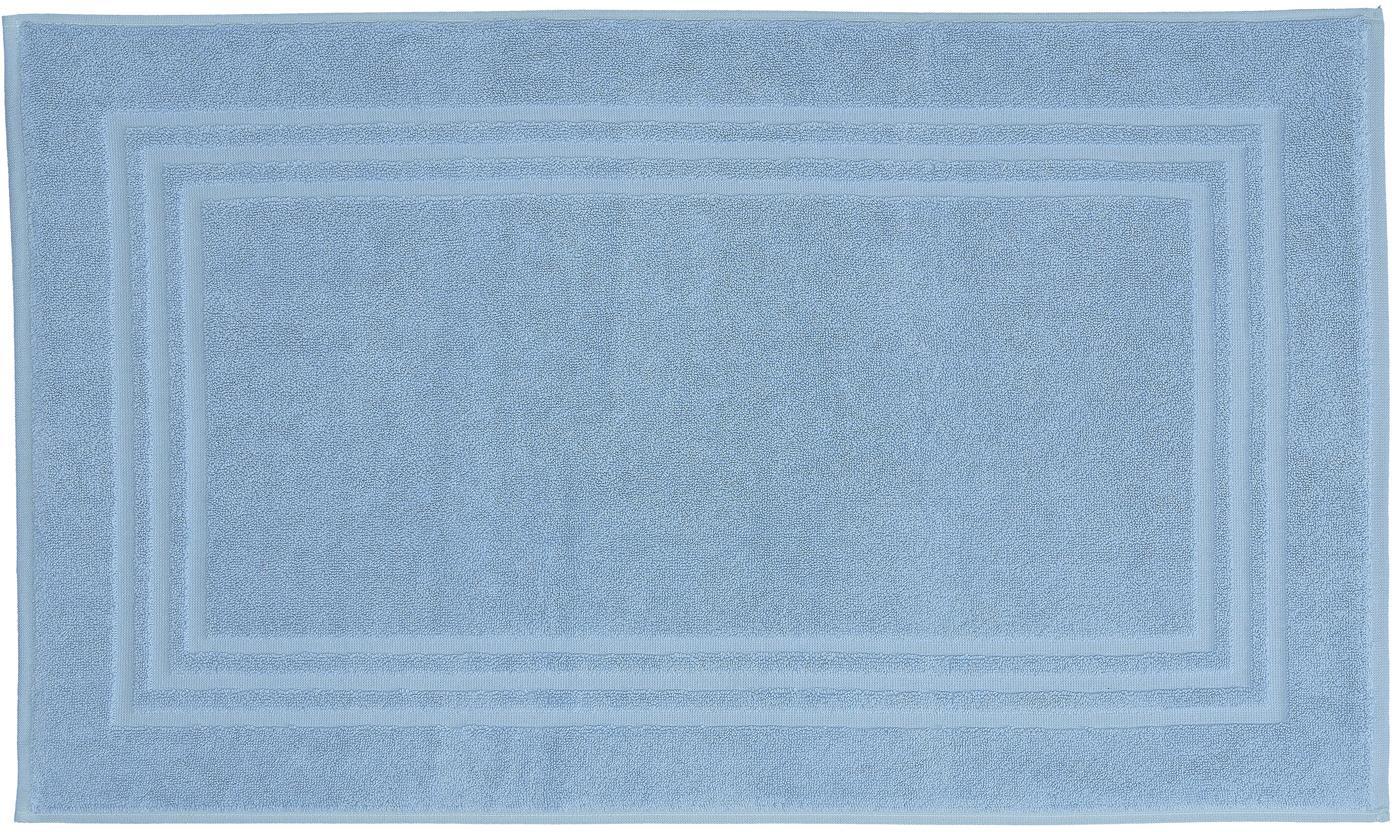 Badmat Gentle, Katoen, IJsblauw, 50 x 80 cm