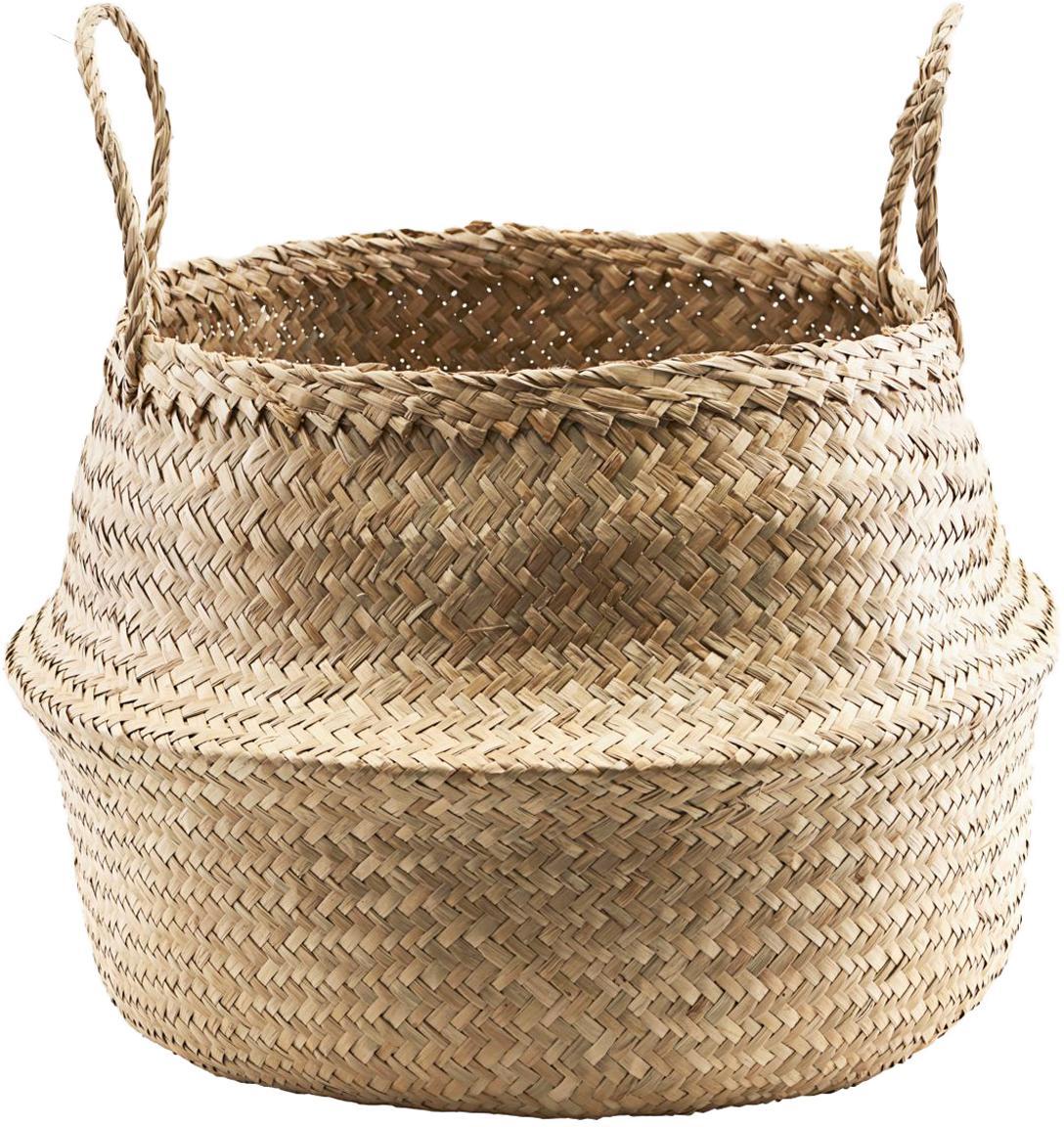 Opbergmand Tanger, Natuurlijke vezels, Beige, Ø 45 x H 32 cm
