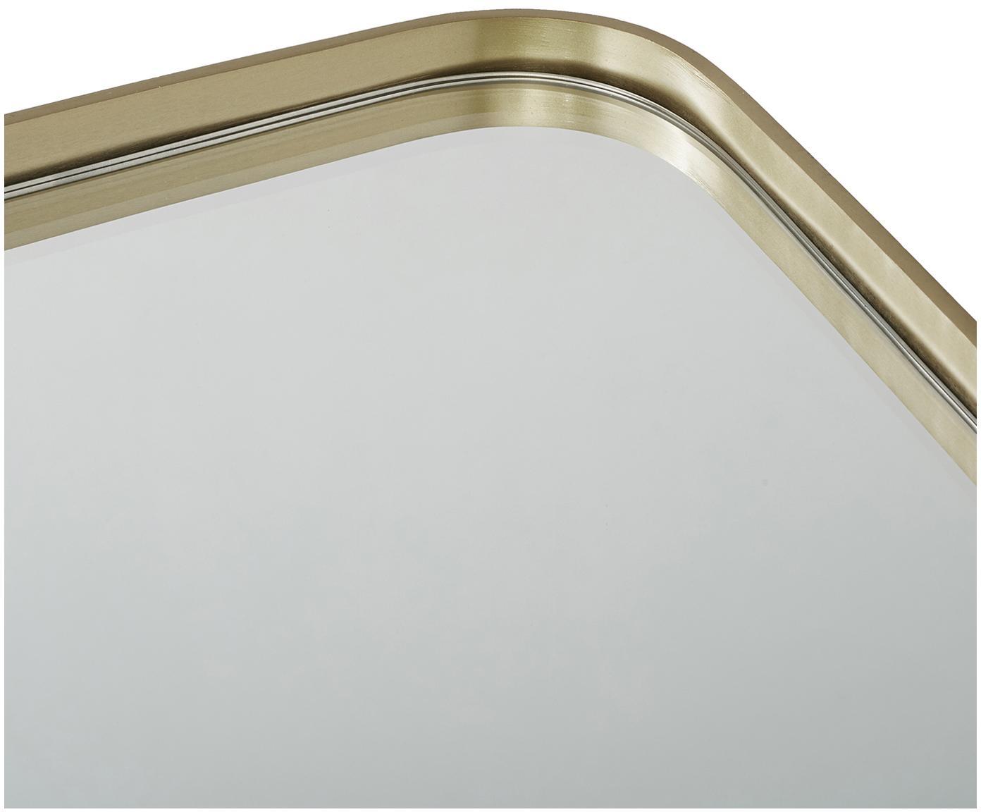 Wandspiegel Alyson, Frame: vermessingd metaal, Messingkleurig, 56 x 168 cm