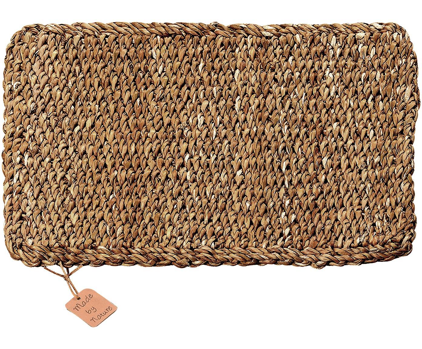 Seegras Tischsets Sophy, 2 Stück, Seegras, Beige, 30 x 41 cm