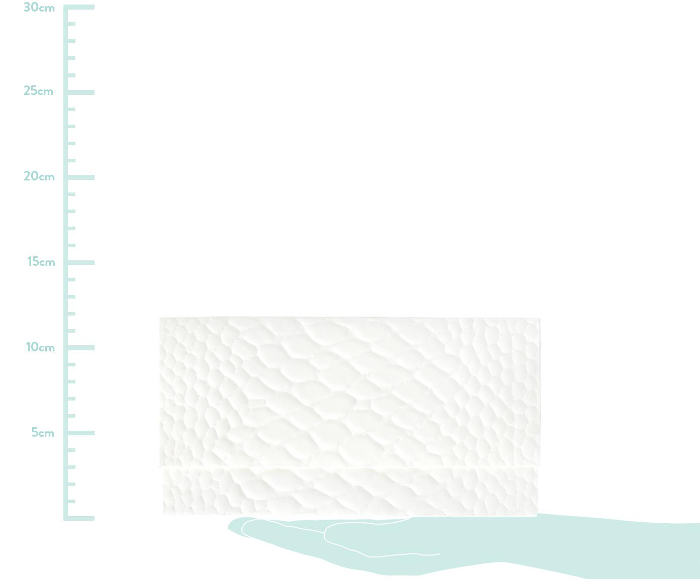 Busta Snake, Carta, Bianco, Larg. 23 x Alt. 12 cm