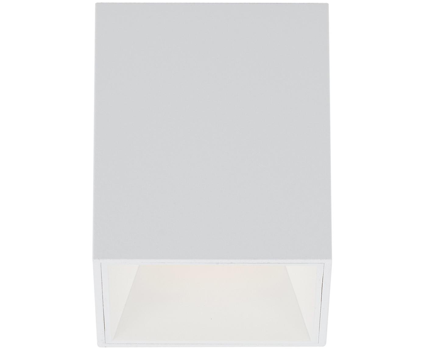 LED Deckenspot Marty, Metall, pulverbeschichtet, Weiss, matt, 10 x 12 cm