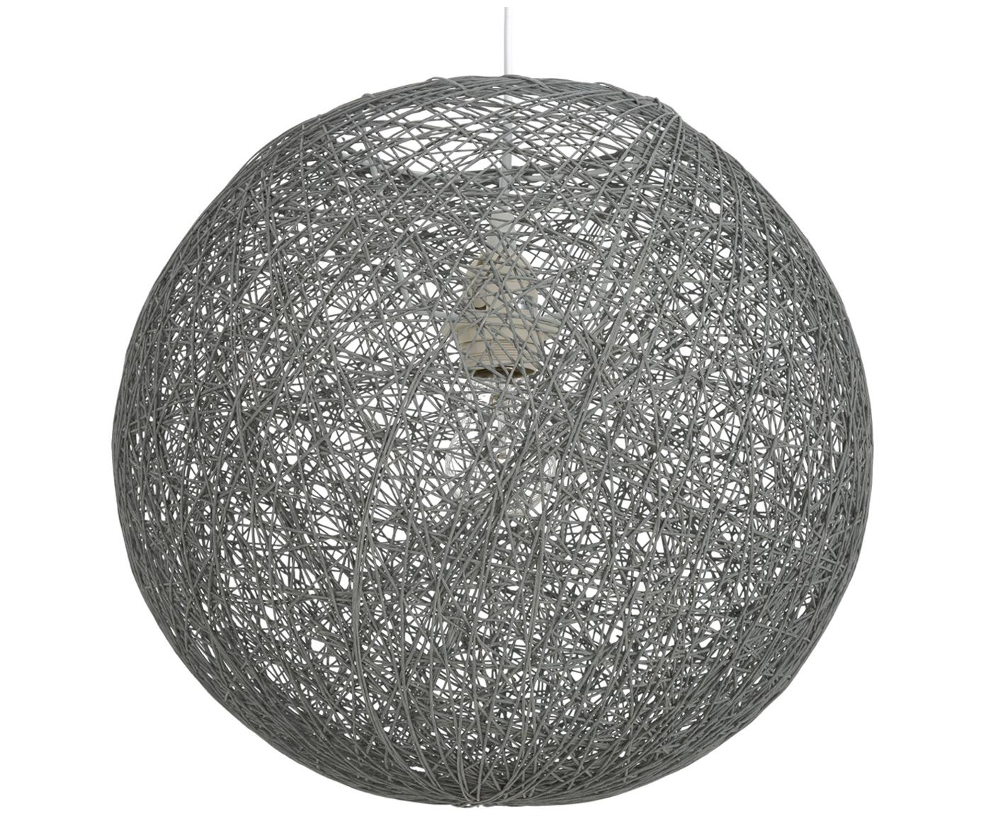 Lampa wisząca z papieru Tvist, Szary, Ø 38 x 36 cm