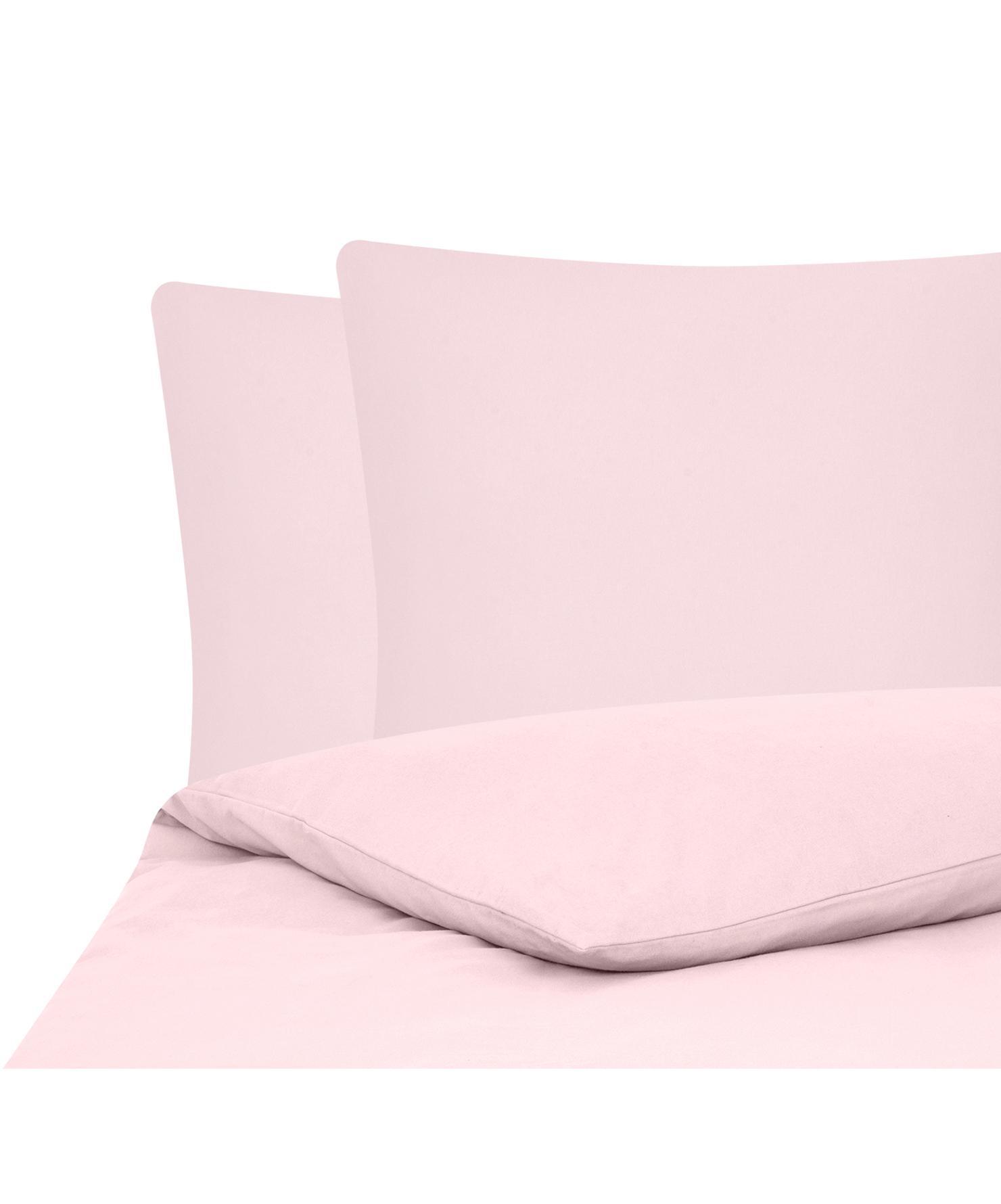 Flanell-Bettwäsche Biba in Rosa, Webart: Flanell Flanell ist ein s, Rosa, 240 x 220 cm + 2 Kissen 80 x 80 cm