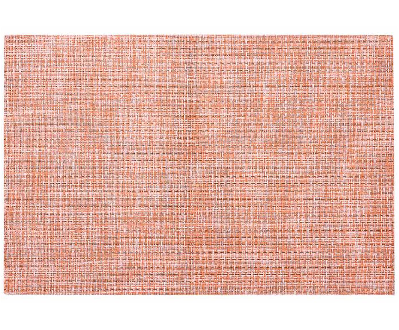 Podkładka Lohan, 2 szt., PVC, PET, Brzoskwiniowy, S 30 x D 45 cm