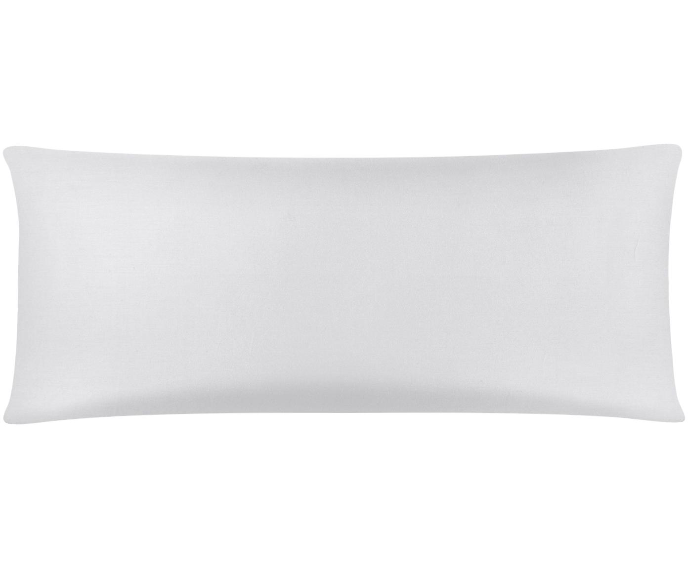 Funda de almohada de satén Comfort, Gris claro, An 45 x L 110 cm