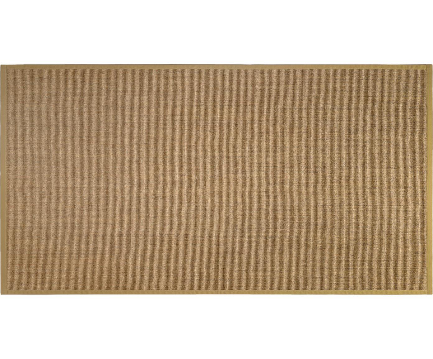 Sisalteppich Leonie in Beige, Vorderseite: 100% Sisalfaser, Rückseite: Latex, Beige, B 80 x L 150 cm (Größe XS)