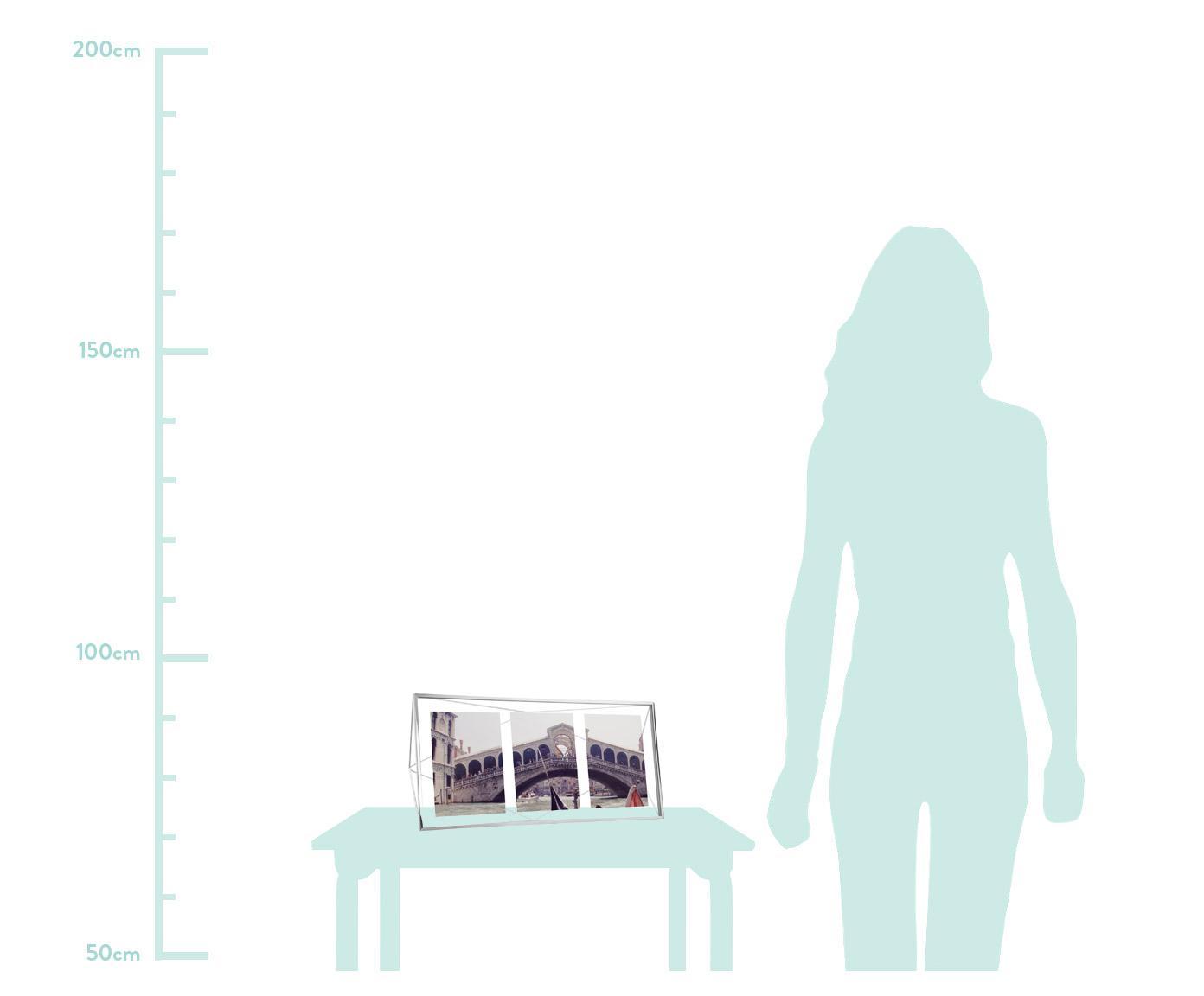 Ramka na zdjęcia Prisma, Chrom, 13 x 18 cm