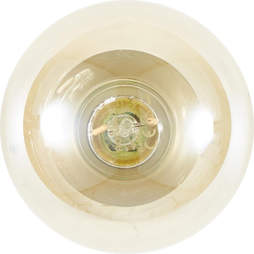 Wandleuchte Chanty, Metall, vermessingt, Messing, gebürstet, Ø 6 cm, T 7 cm