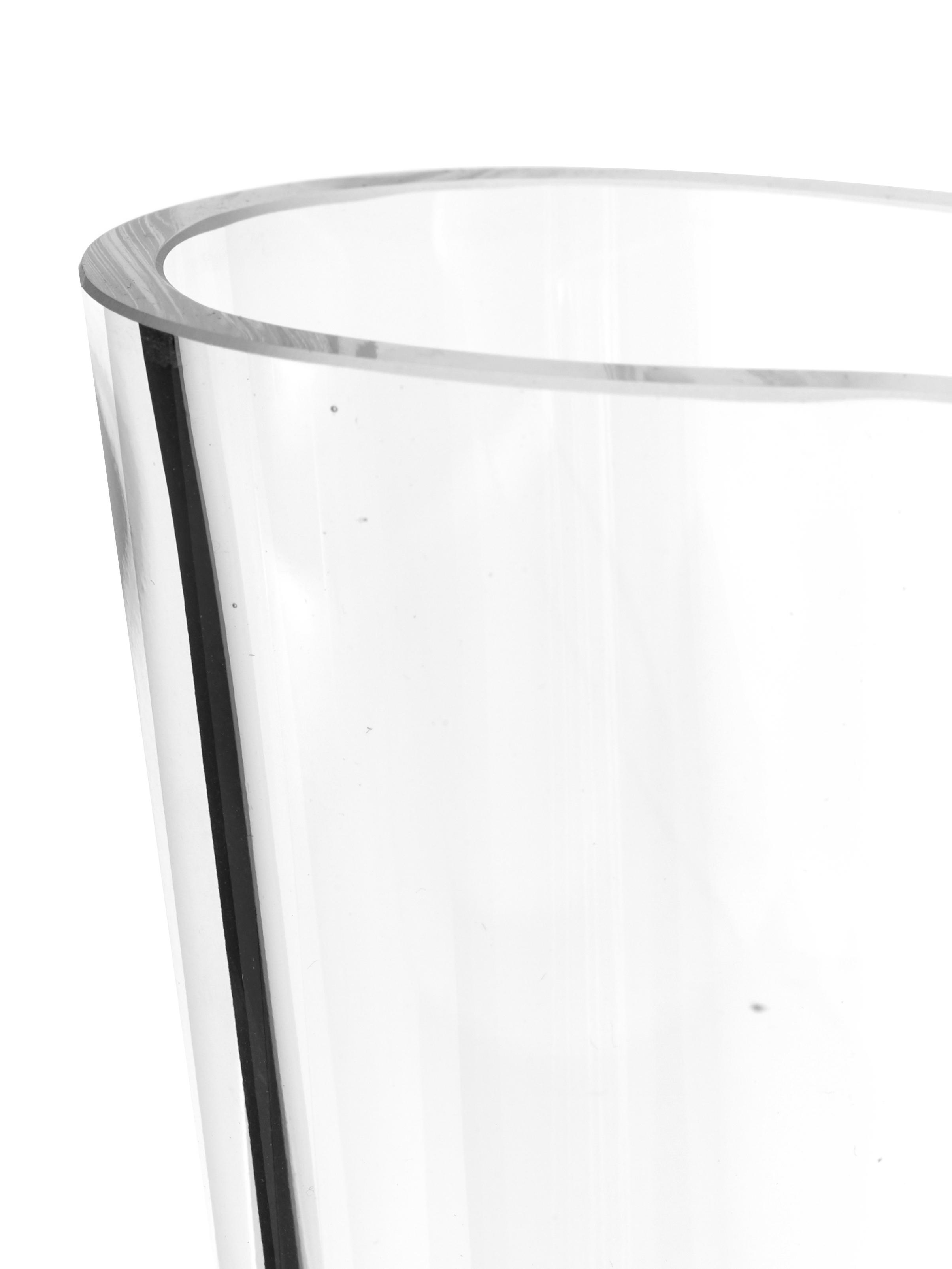Vaso Alvar Aalto, Vetro, Trasparente, Alt. 16 cm
