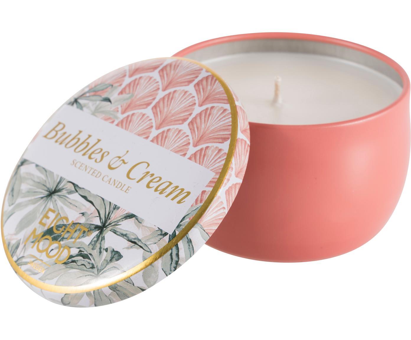 Świeca zapachowa Allure (słodka śmietanka), Blady różowy, wielobarwny, Ø 8 x W 5 cm
