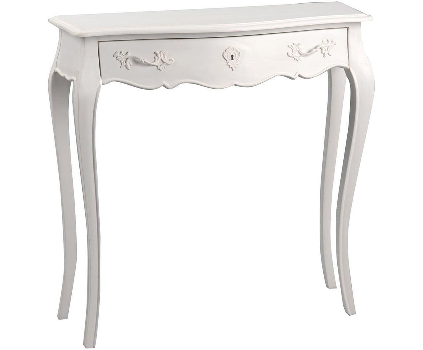 Consola Murano, Blanco roto, An 80 x Al 80 cm