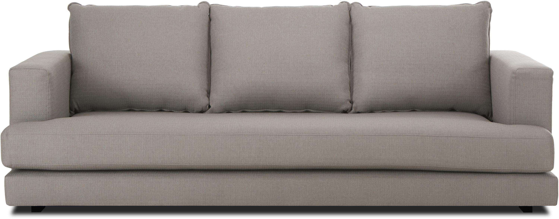 Sofa Tribeca (3-Sitzer), Bezug: Polyester 25.000 Scheuert, Sitzfläche: Schaumpolster, Fasermater, Gestell: Massives Kiefernholz, Dunkelgrau, B 228 x T 104 cm