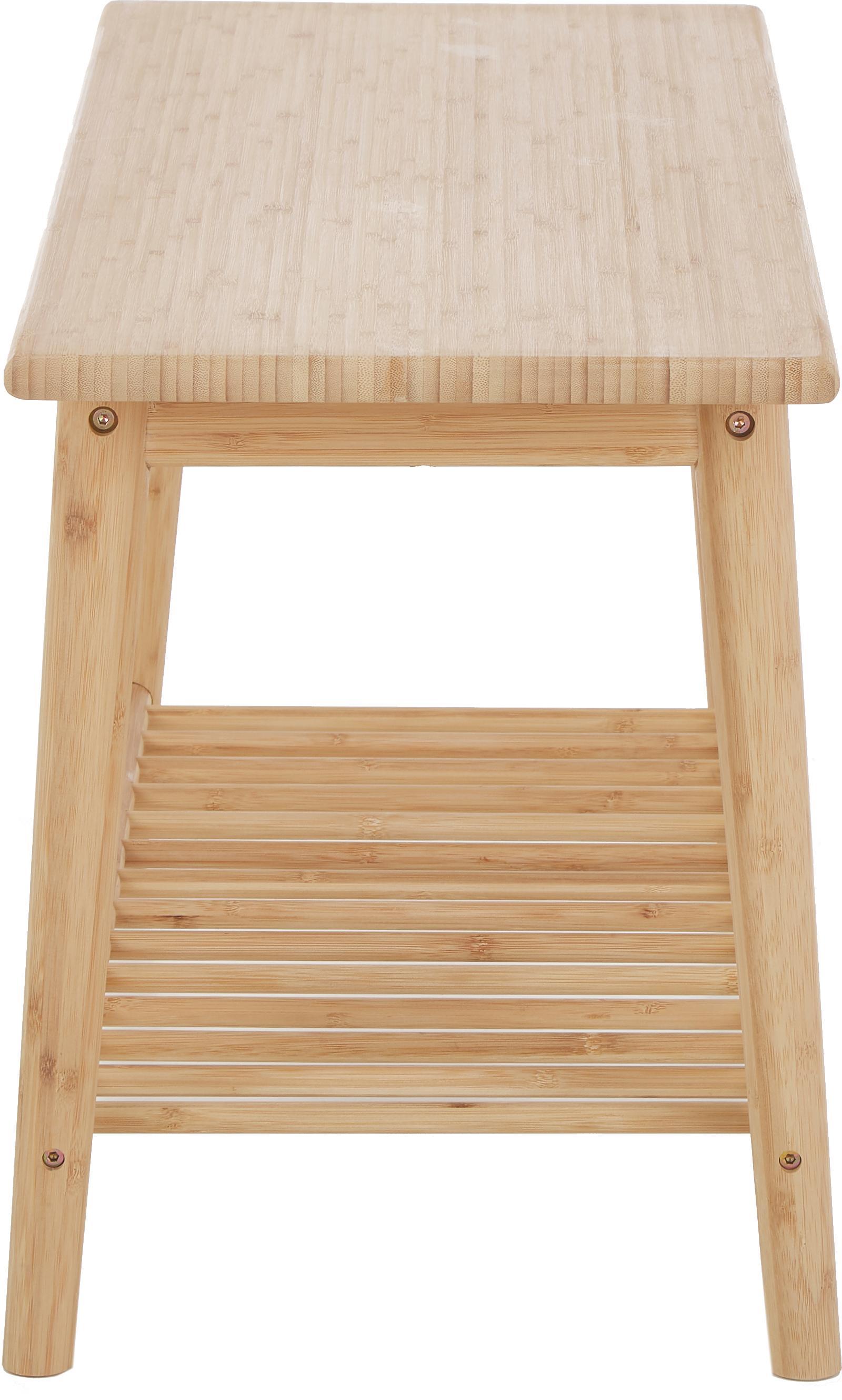 Banco de bambú Noble, Bambú, limado y aceitado, Bambú, An 90 x Al 45 cm