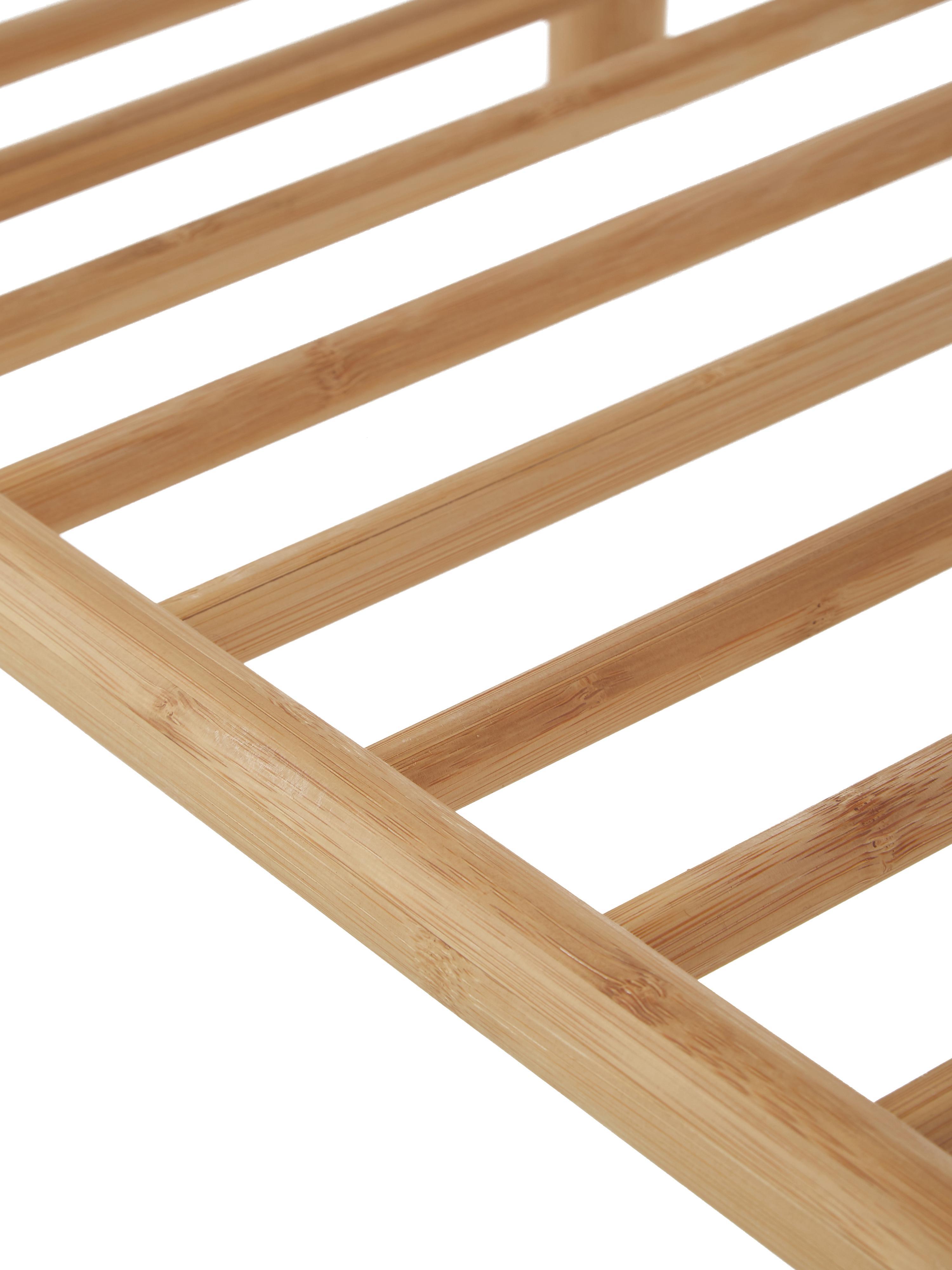 Bambus-Bank Noble, Bambus, geschliffen und geölt, Bambus, 90 x 45 cm