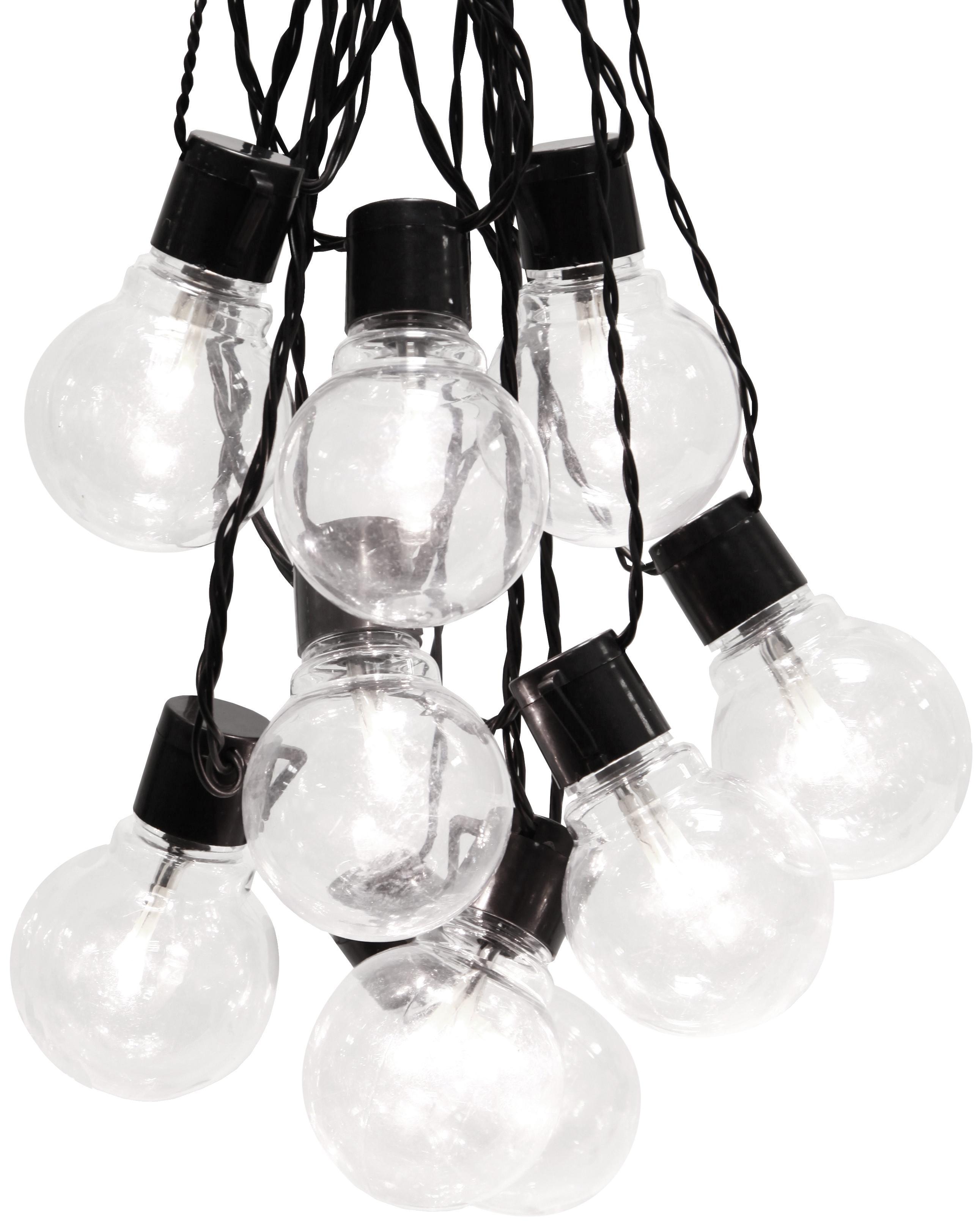 LED lichtslinger Partaj, 950 cm, Zwart, L 500 cm