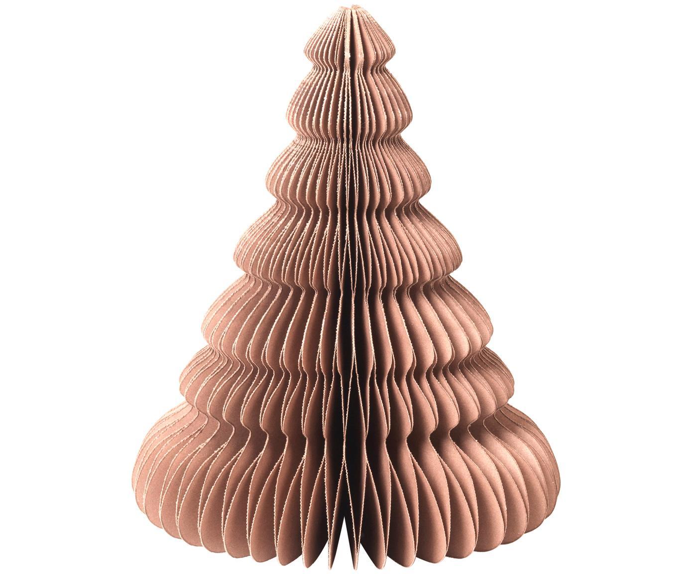 Dekoracja Paper Pine, Papier, Jasny brązowy, Ø 13 x W 15 cm