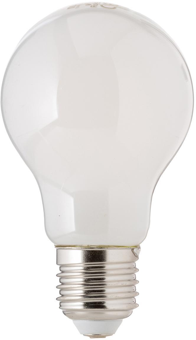 Leuchtmittel Hael (E27/4W), 5 Stück, Leuchtmittelschirm: Opalglas, Leuchtmittelfassung: Aluminium, Weiß, Ø 8 x H 10 cm