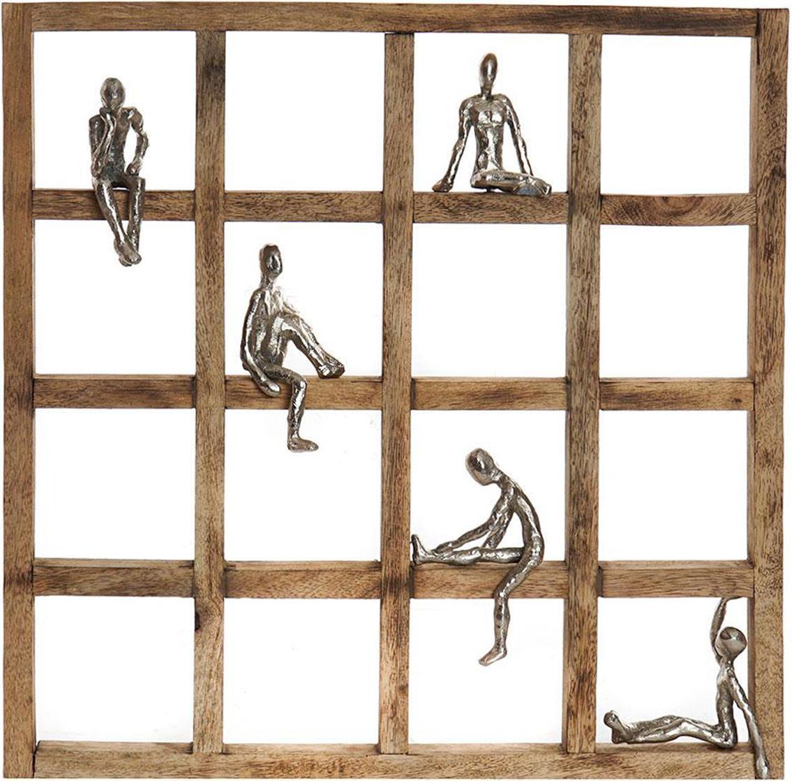 Estantería decorativa Persona, Beige, An 51 x Al 51 cm