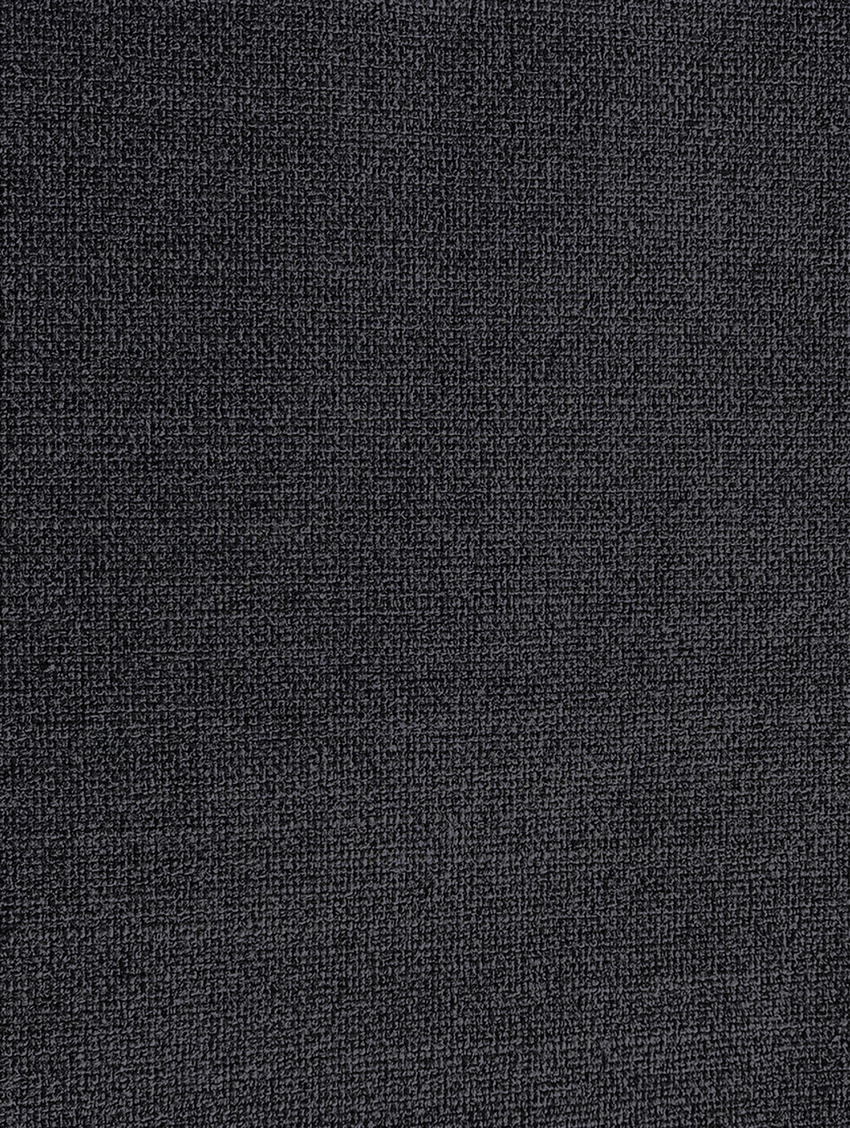 Sessel Moby, Bezug: Polyester 60.000 Scheuert, Gestell: Massives Kiefernholz, Füße: Metall, pulverbeschichtet, Webstoff Dunkelgrau, B 90 x T 90 cm