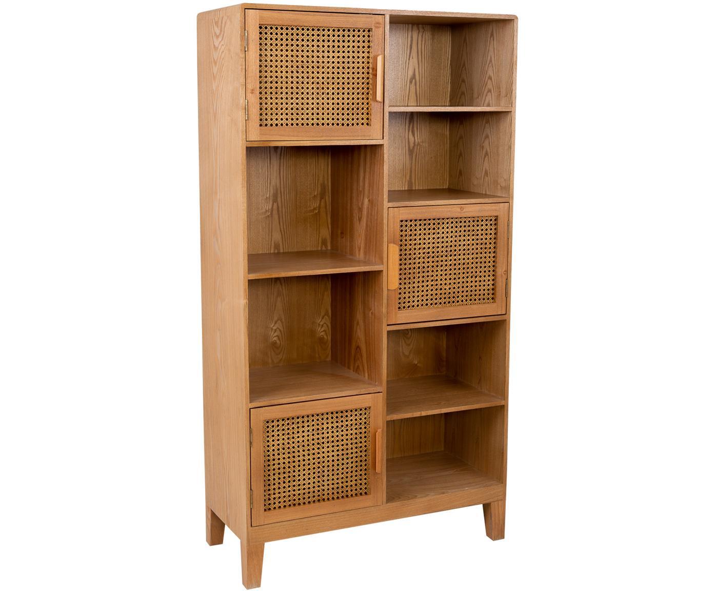Estantería Nina, Estructura: madera de abeto, madera c, Tonos marrones, An 80 x Al 150 cm