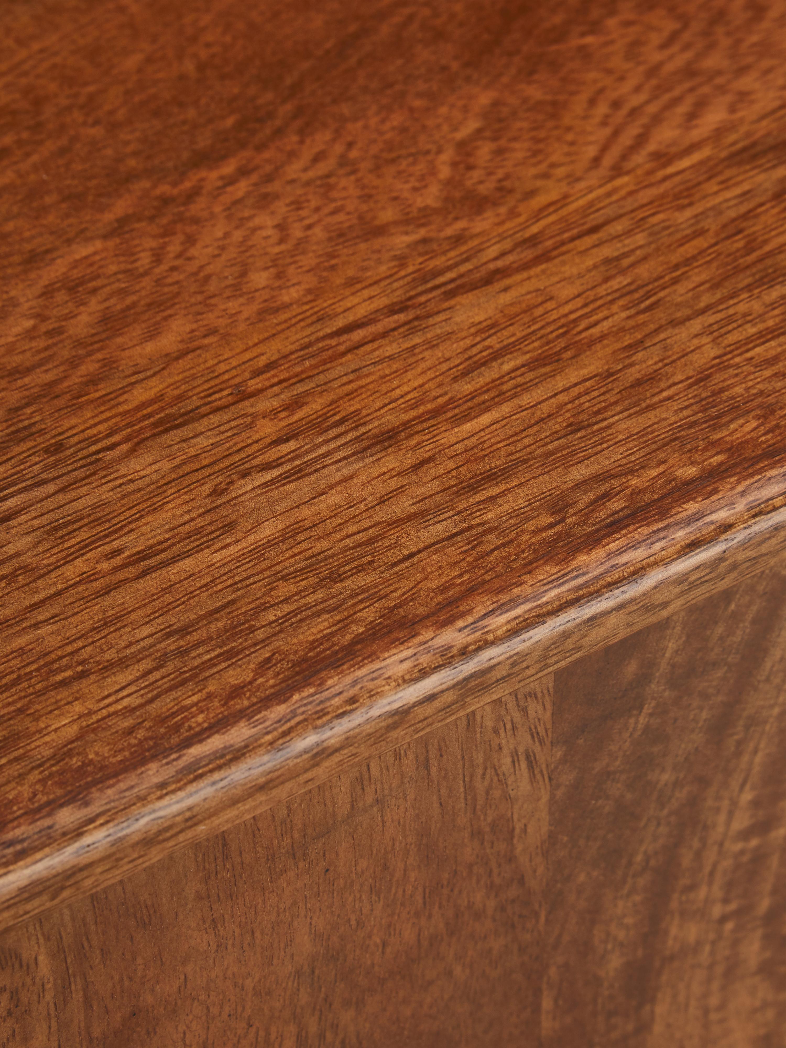 Retro Sideboard Paul aus Holz, Braun, 180 x 75 cm