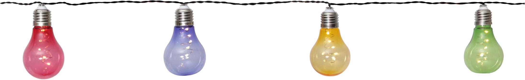 Girlanda świetlna LED Glow, 150 cm, Wielobarwny, D 190 cm