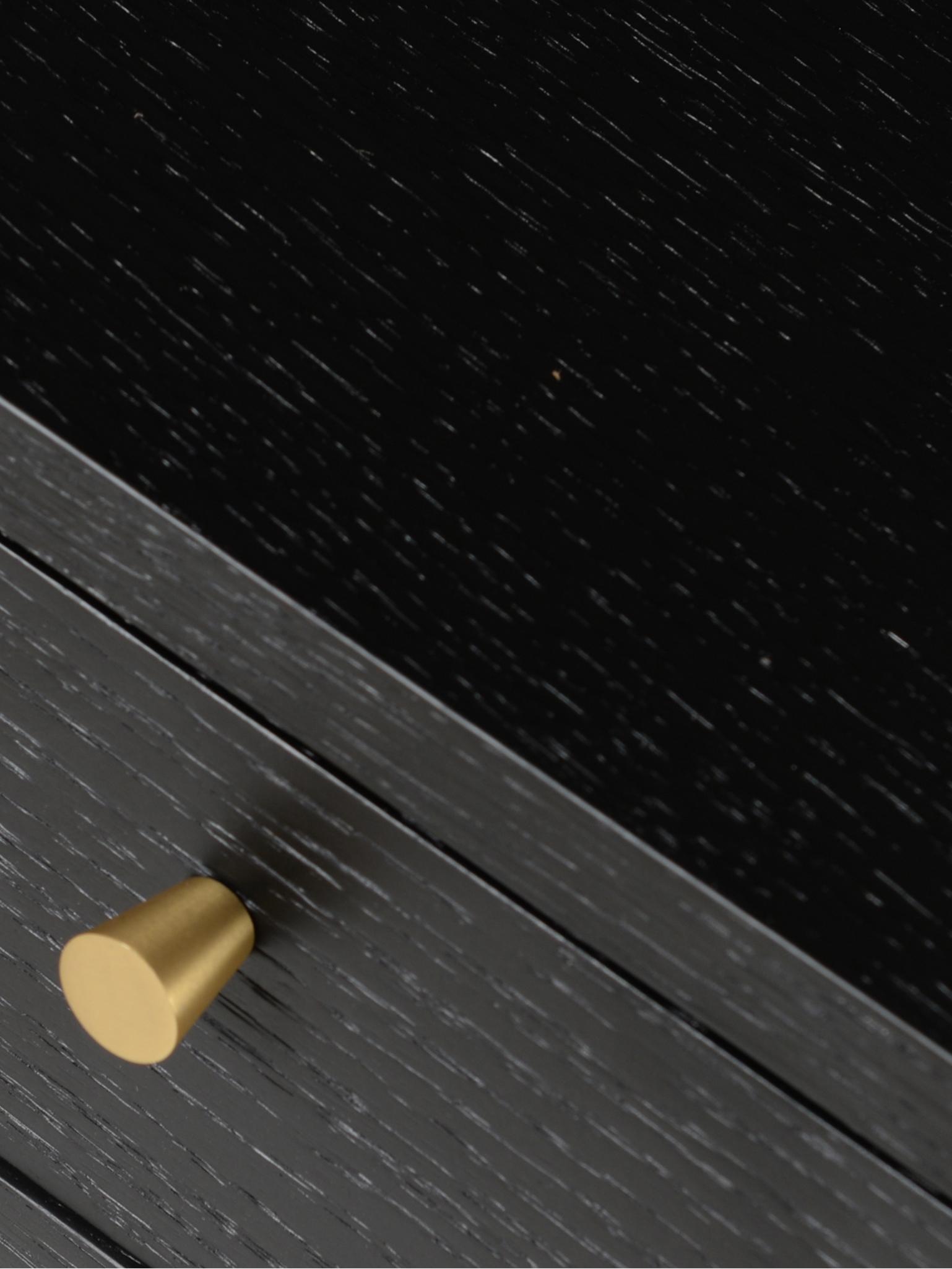 Scrivania nera con cassetto Verona, Gambe: metallo verniciato a polv, Nero, Larg. 117 x Prof. 57 cm
